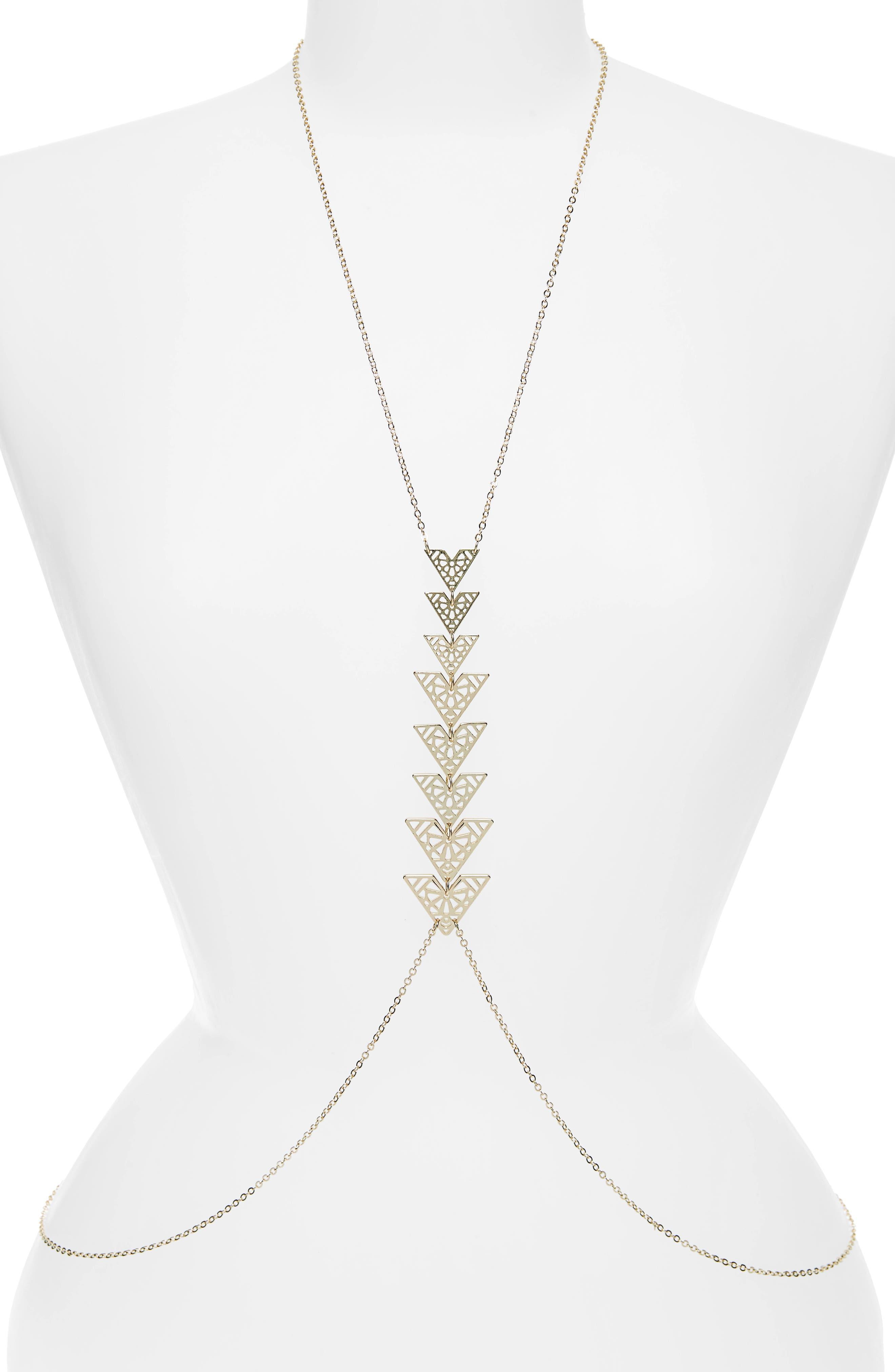 Triangle Body Chain,                         Main,                         color, 710