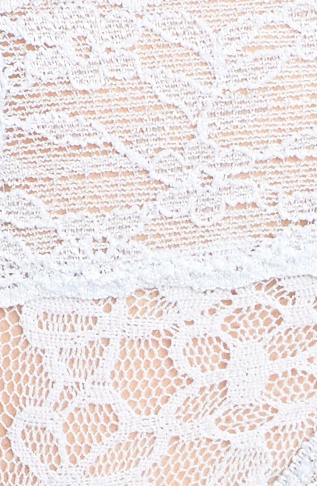 Lace Waist Thong,                             Alternate thumbnail 20, color,