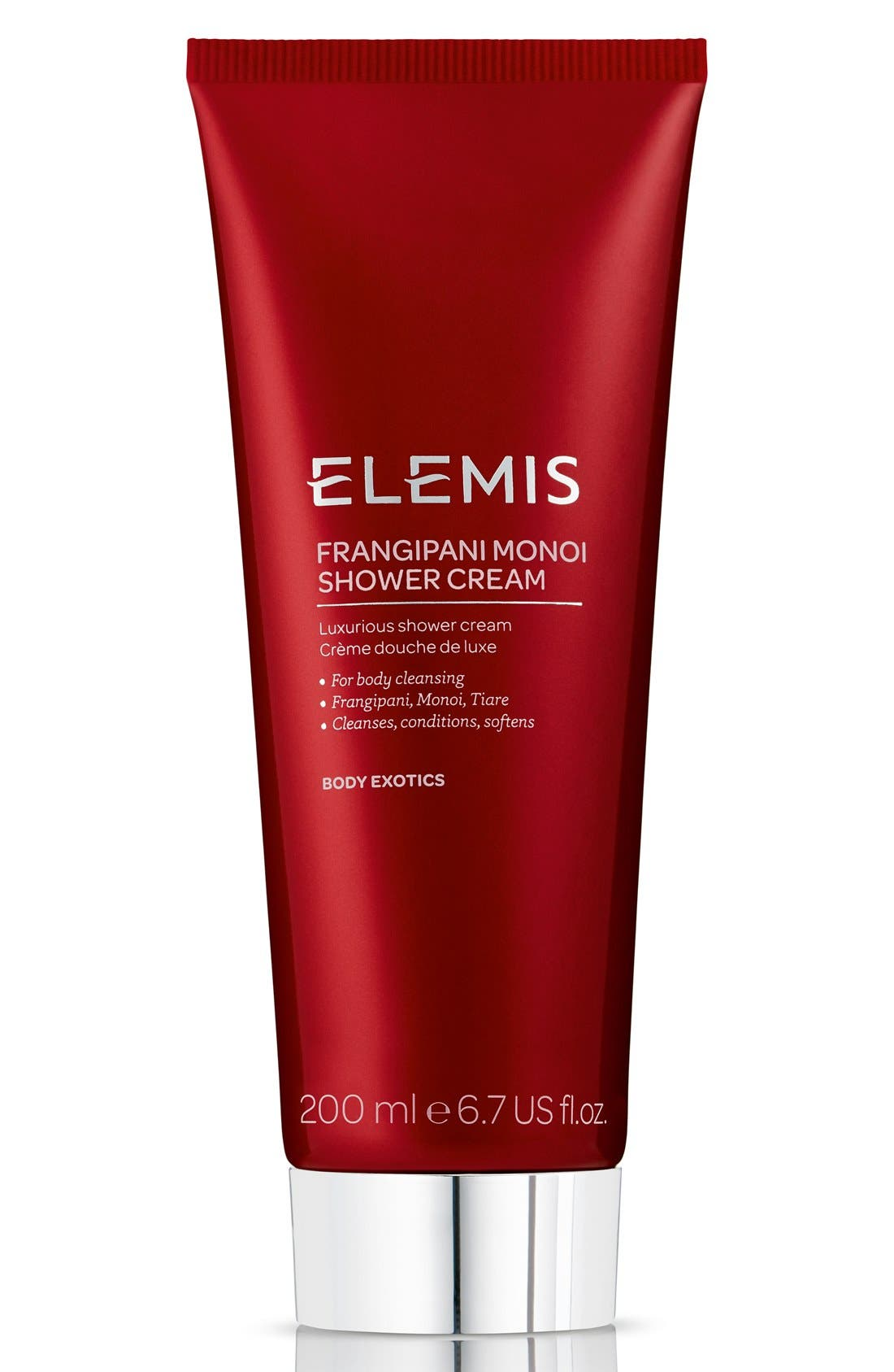 Frangipani Monoi Shower Cream,                             Main thumbnail 1, color,                             NO COLOR