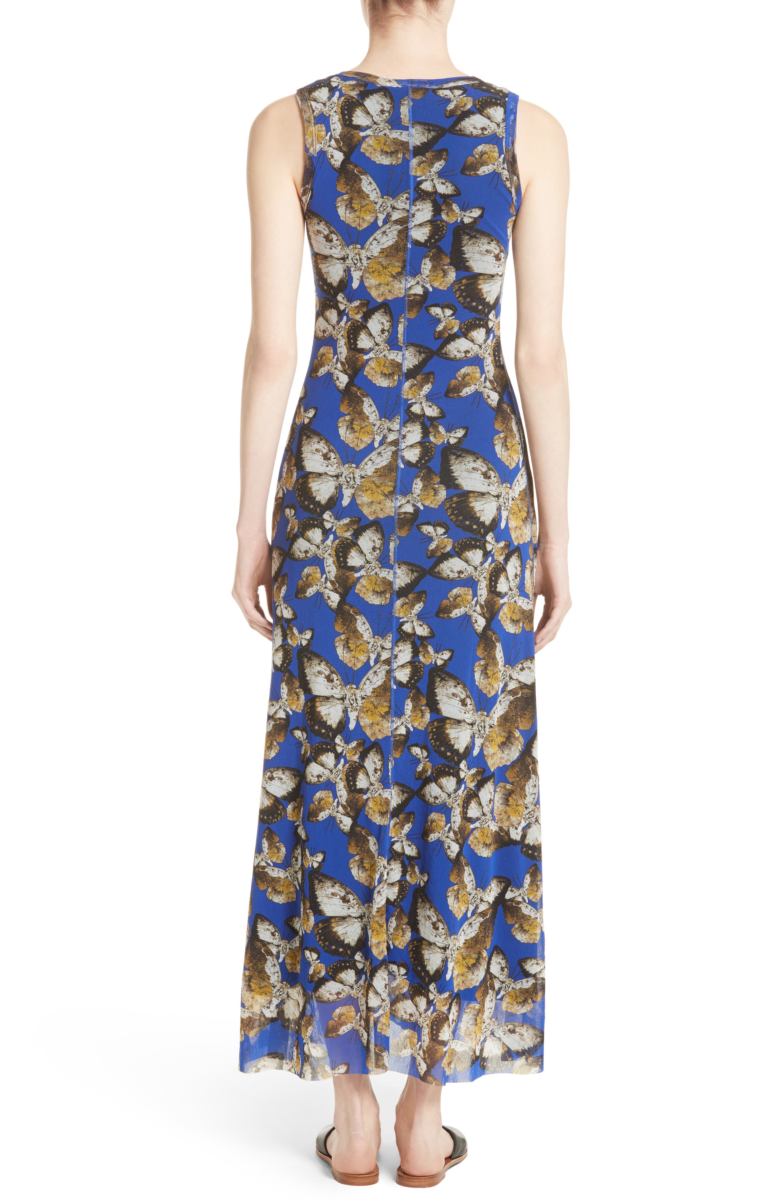 Tulle Maxi Dress,                             Alternate thumbnail 2, color,                             434