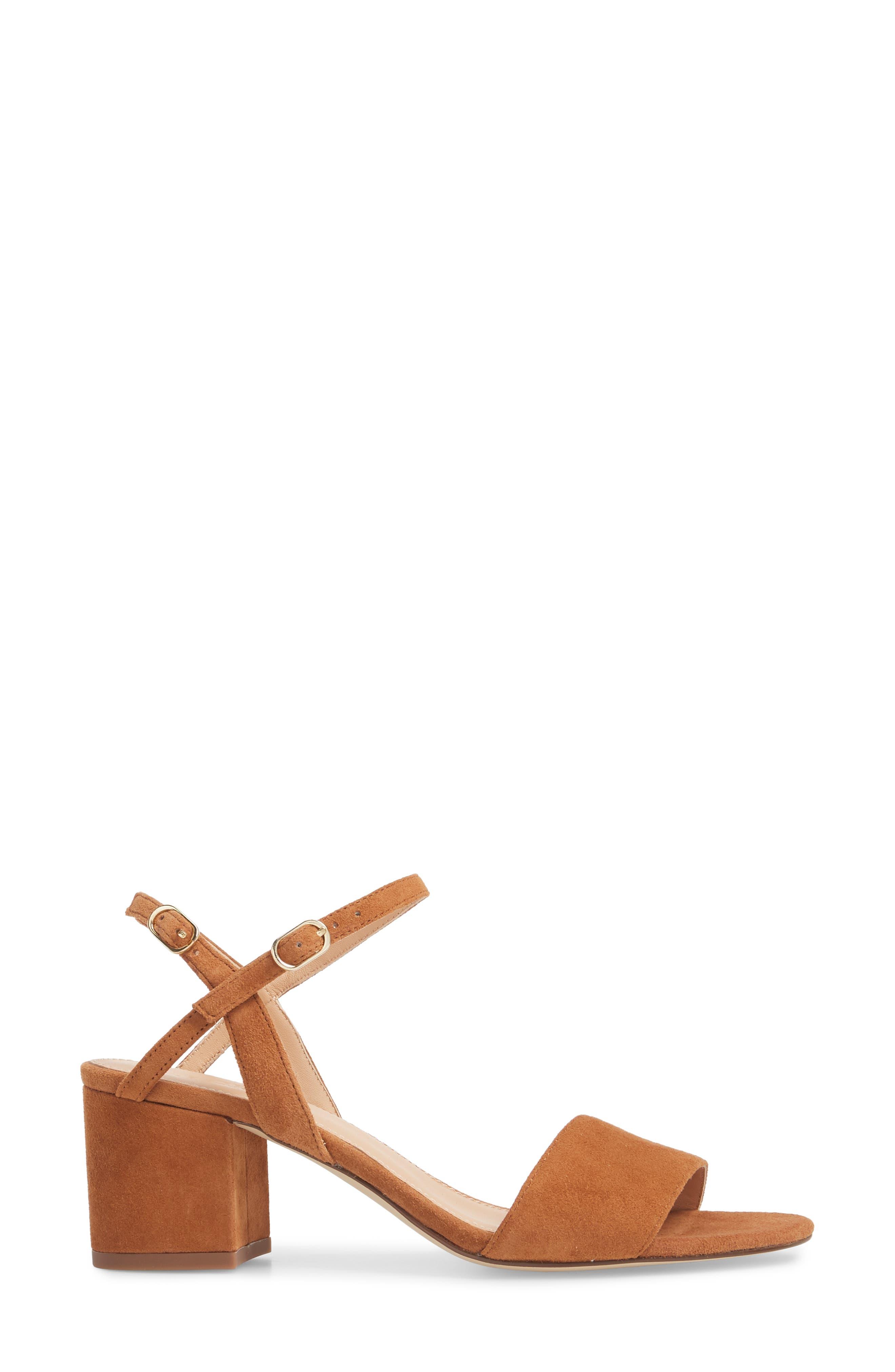 Strappy Block Heel Sandal,                             Alternate thumbnail 8, color,