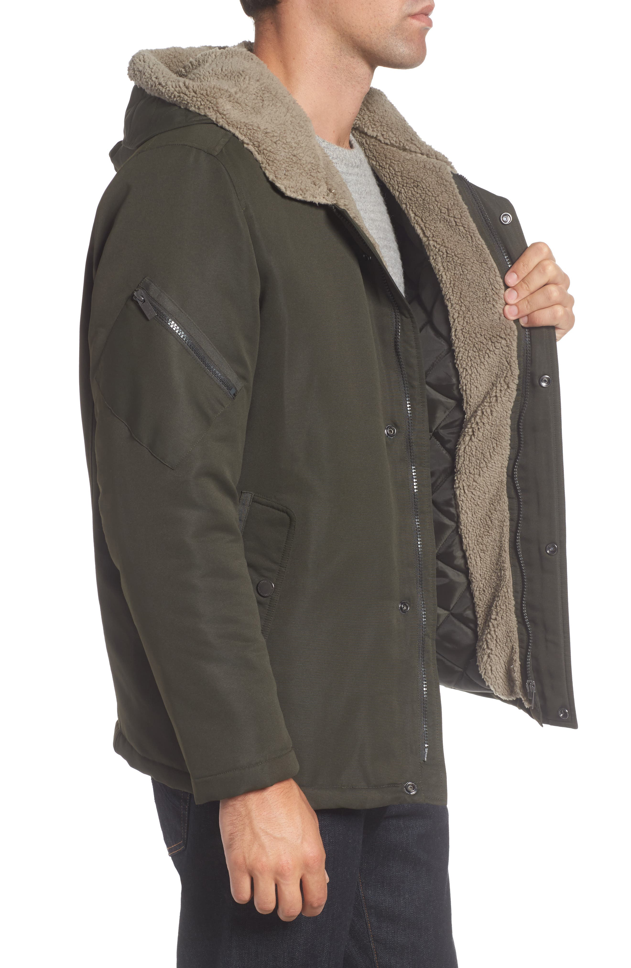 Hooded Jacket,                             Alternate thumbnail 3, color,                             317