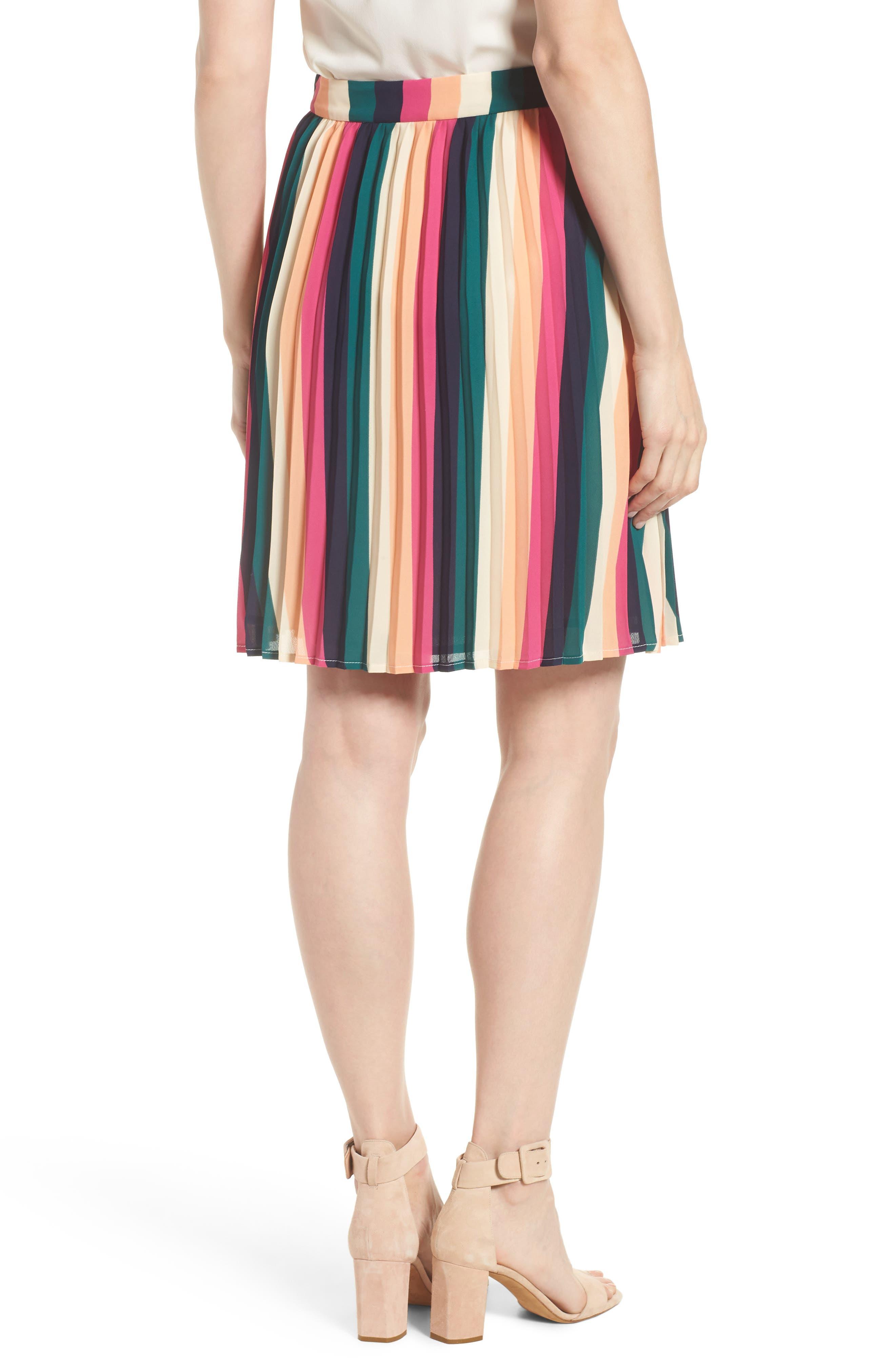 x Hi Sugarplum! Navio Pleat Skirt,                             Alternate thumbnail 2, color,                             007
