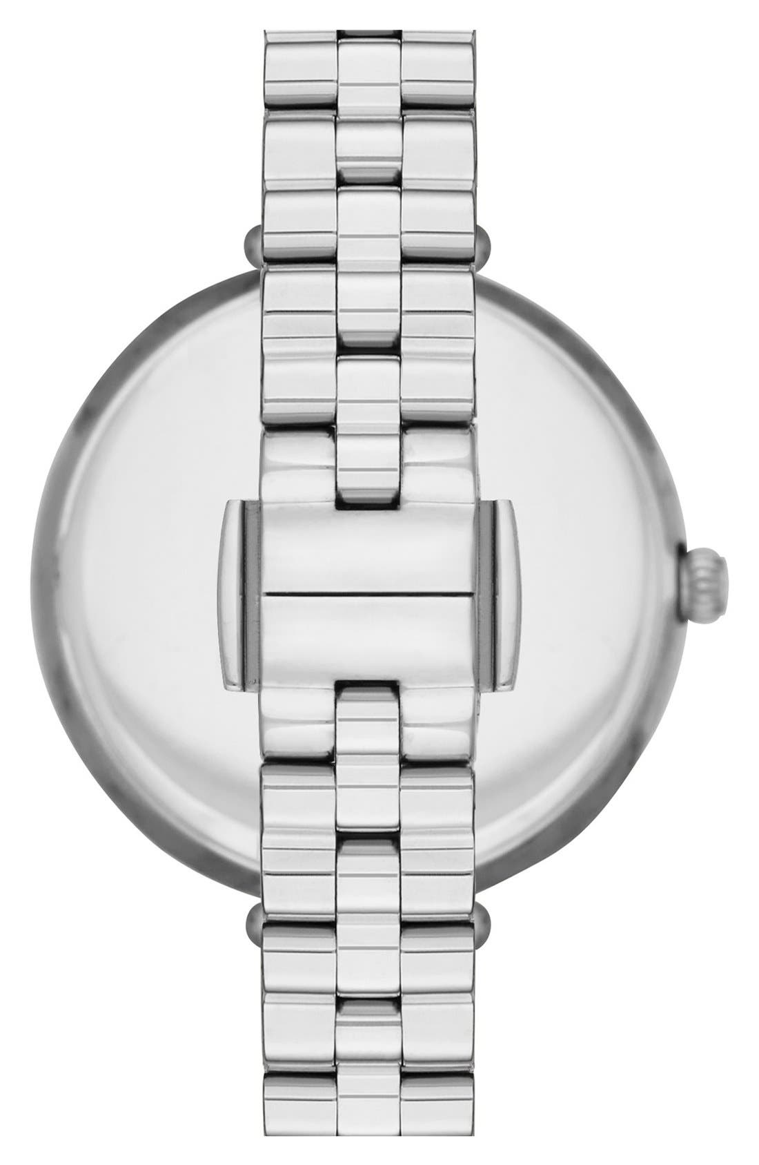holland bracelet watch, 34mm,                             Alternate thumbnail 3, color,                             SILVER