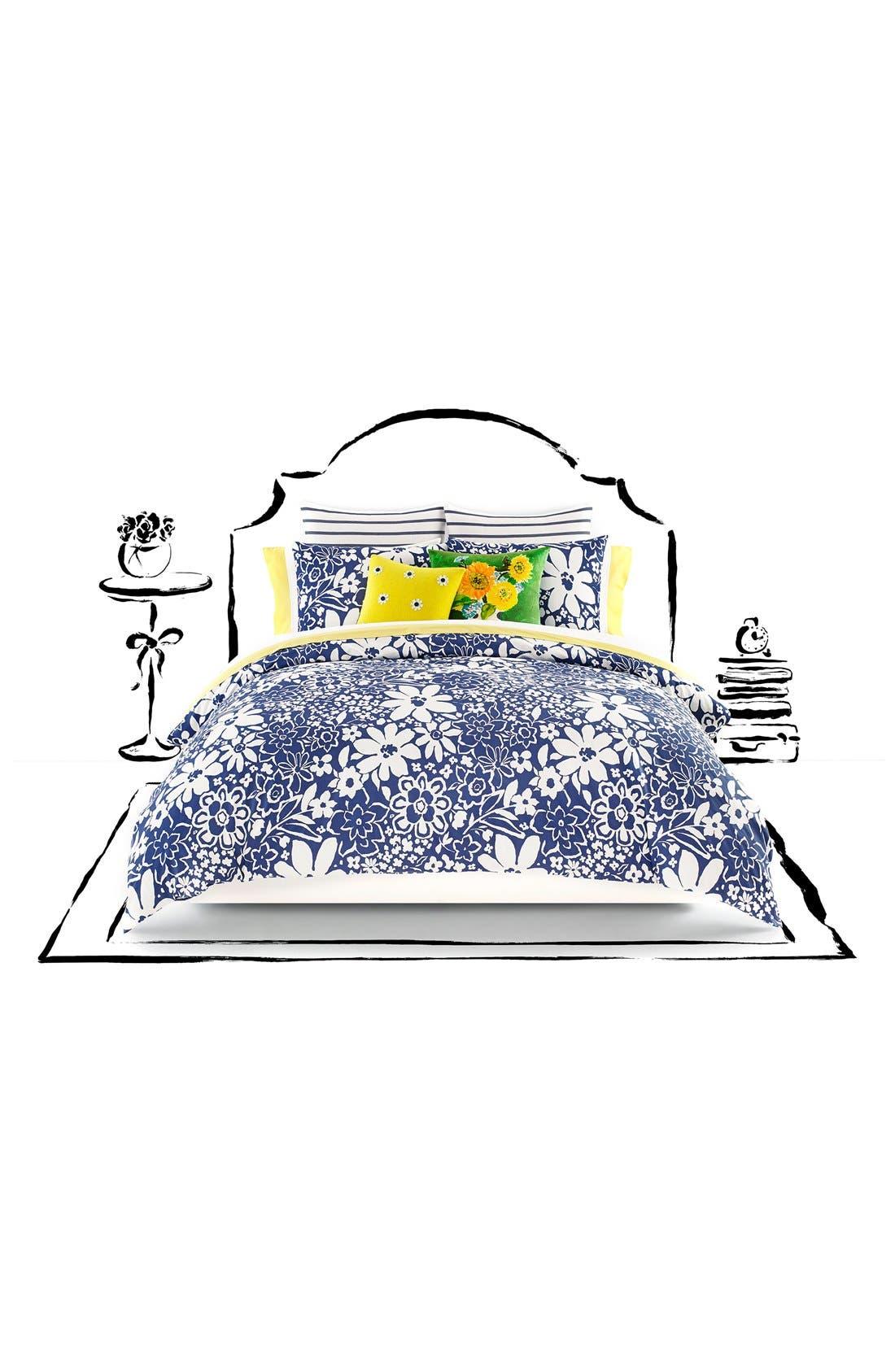'monaco floral' comforter set, Main, color, 400