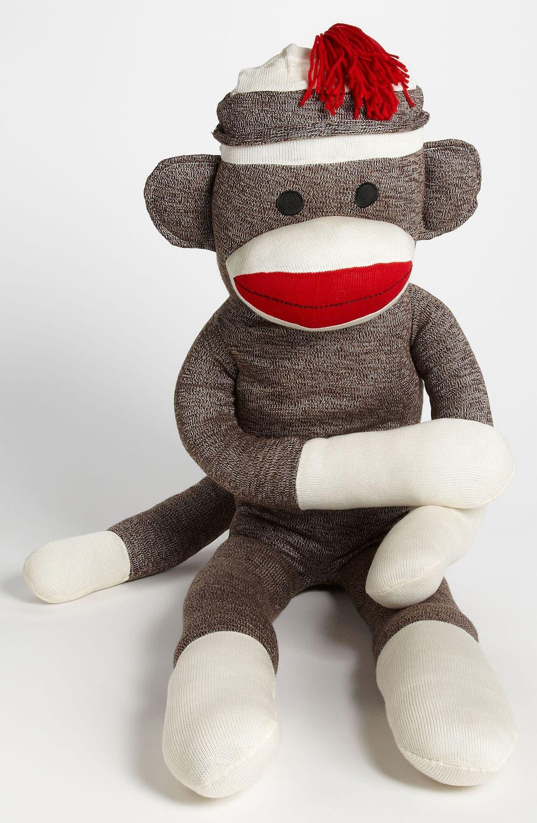 Schylling Jumbo Sock Monkey Stuffed Animal Nordstrom