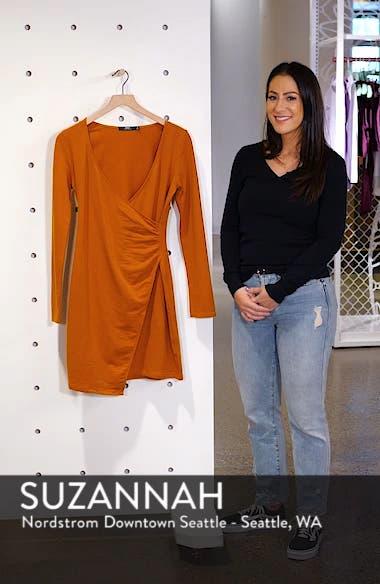Kinzie Faux Wrap Dress, sales video thumbnail