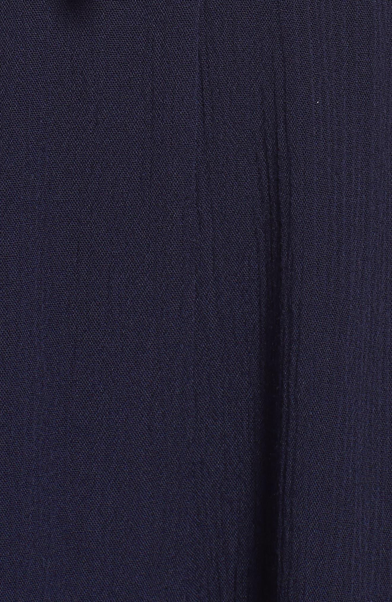 Bell Sleeve Romper,                             Alternate thumbnail 5, color,                             410