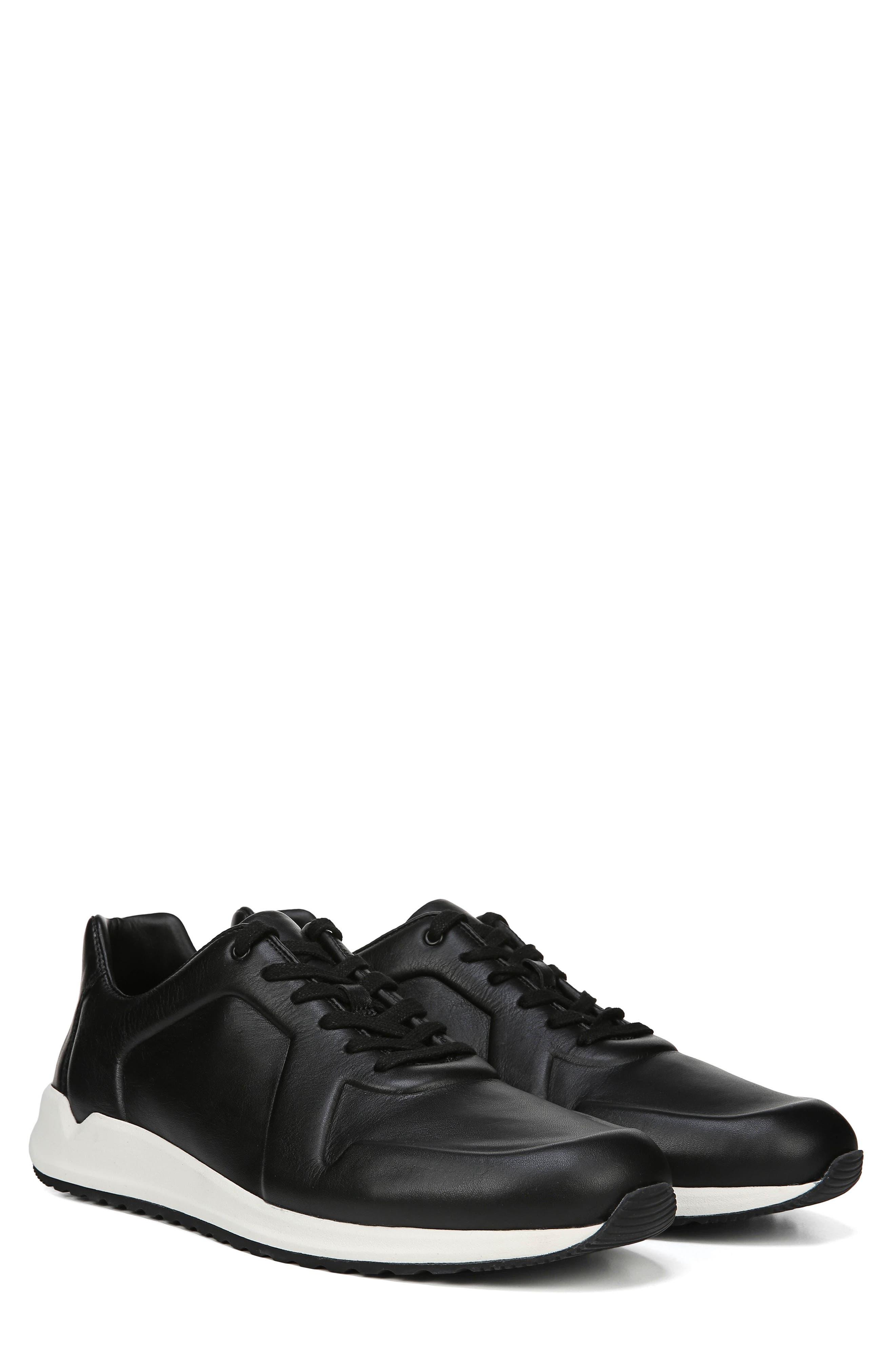 Garrett Sneaker,                             Alternate thumbnail 8, color,                             BLACK/ BLACK