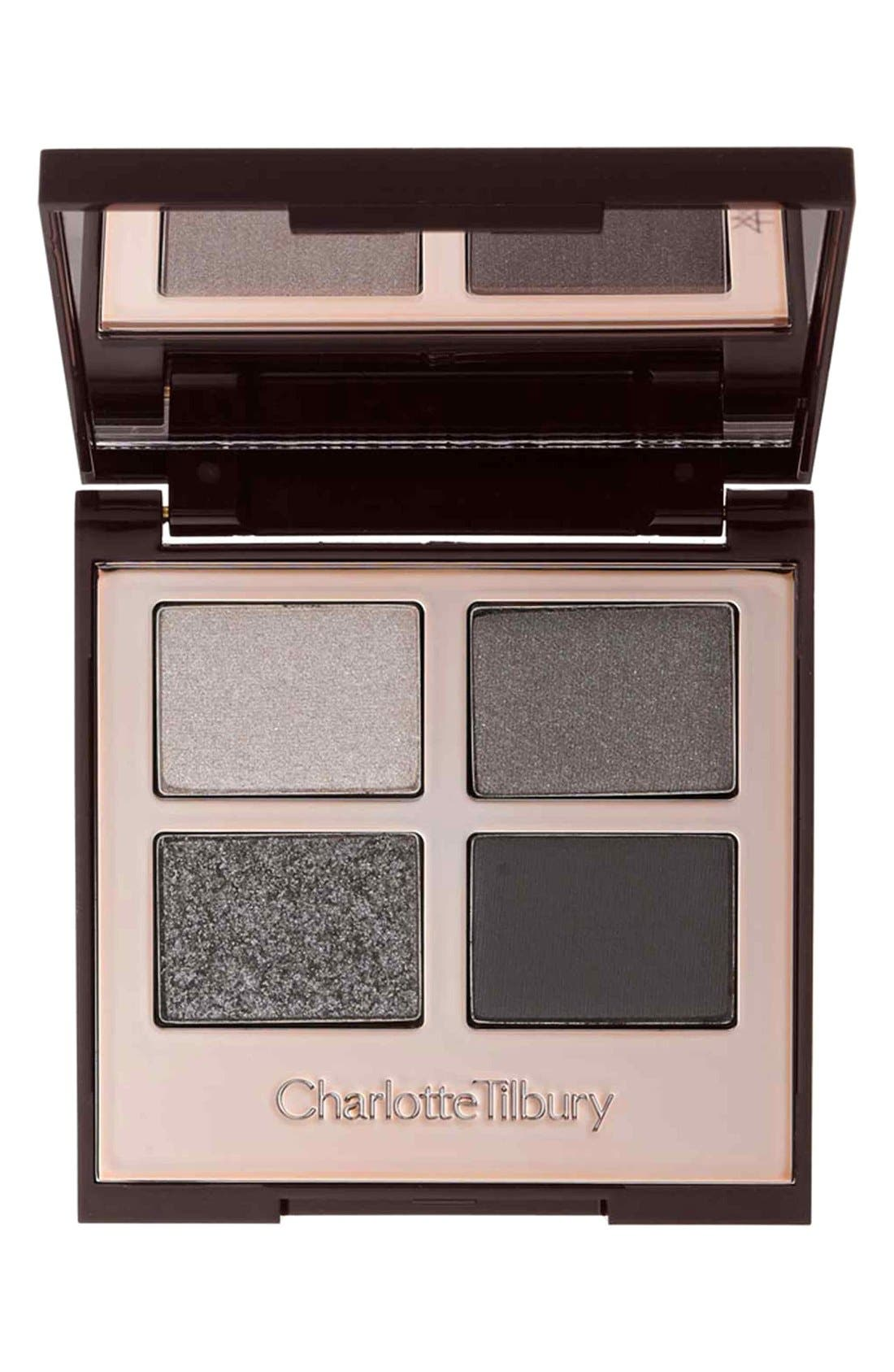 Luxury Palette - The Rock Chick Color-Coded Eyeshadow Palette,                             Main thumbnail 1, color,                             THE ROCK CHICK