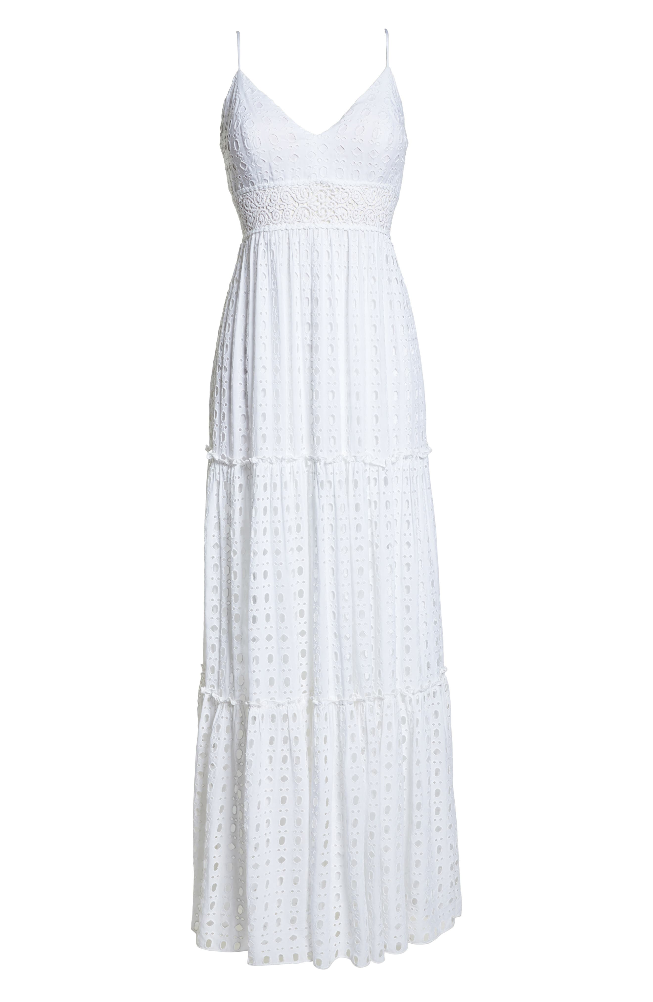 Melody Maxi Dress,                             Alternate thumbnail 6, color,                             115