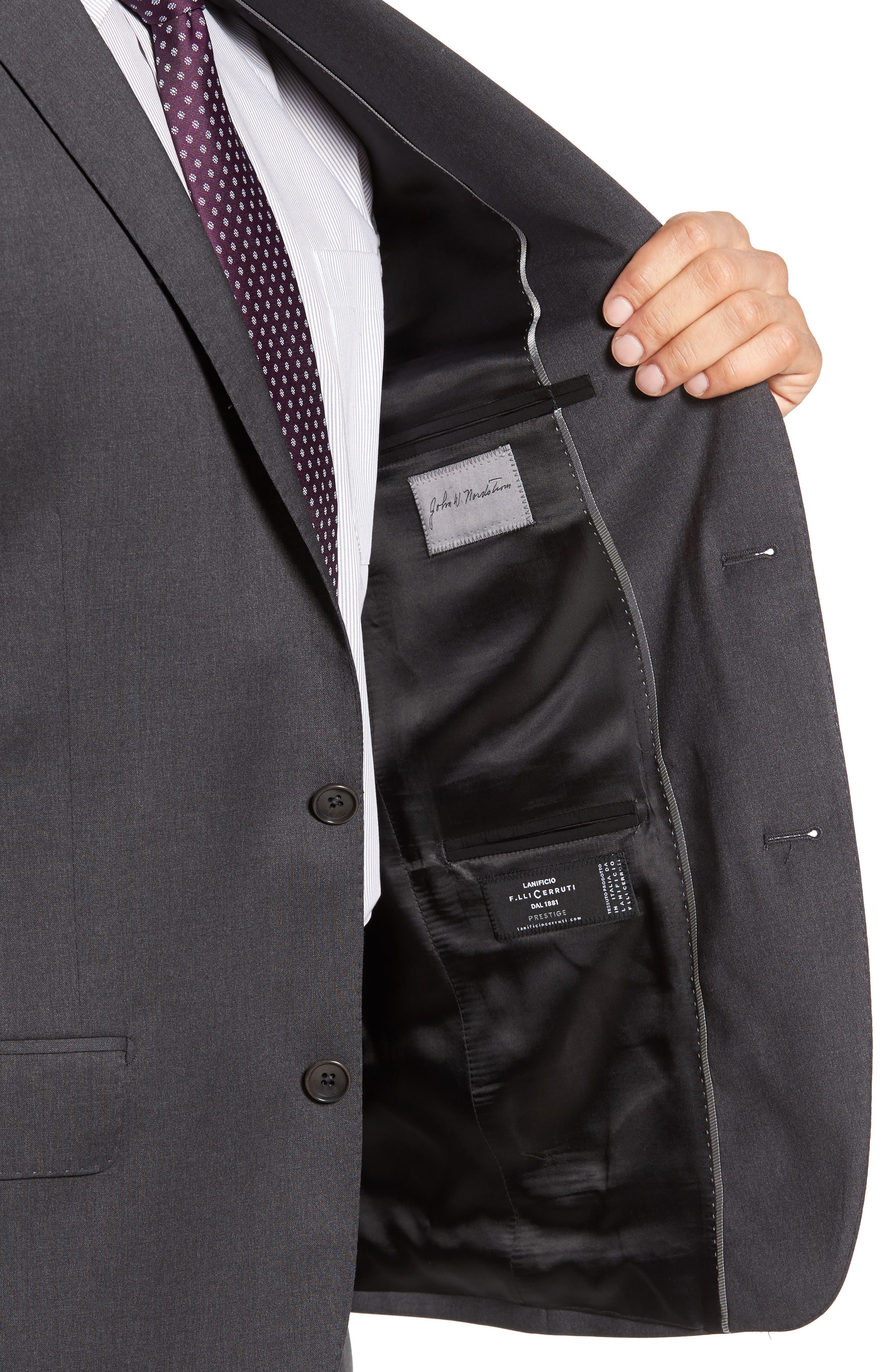 Classic Fit Solid Wool Suit,                             Alternate thumbnail 20, color,