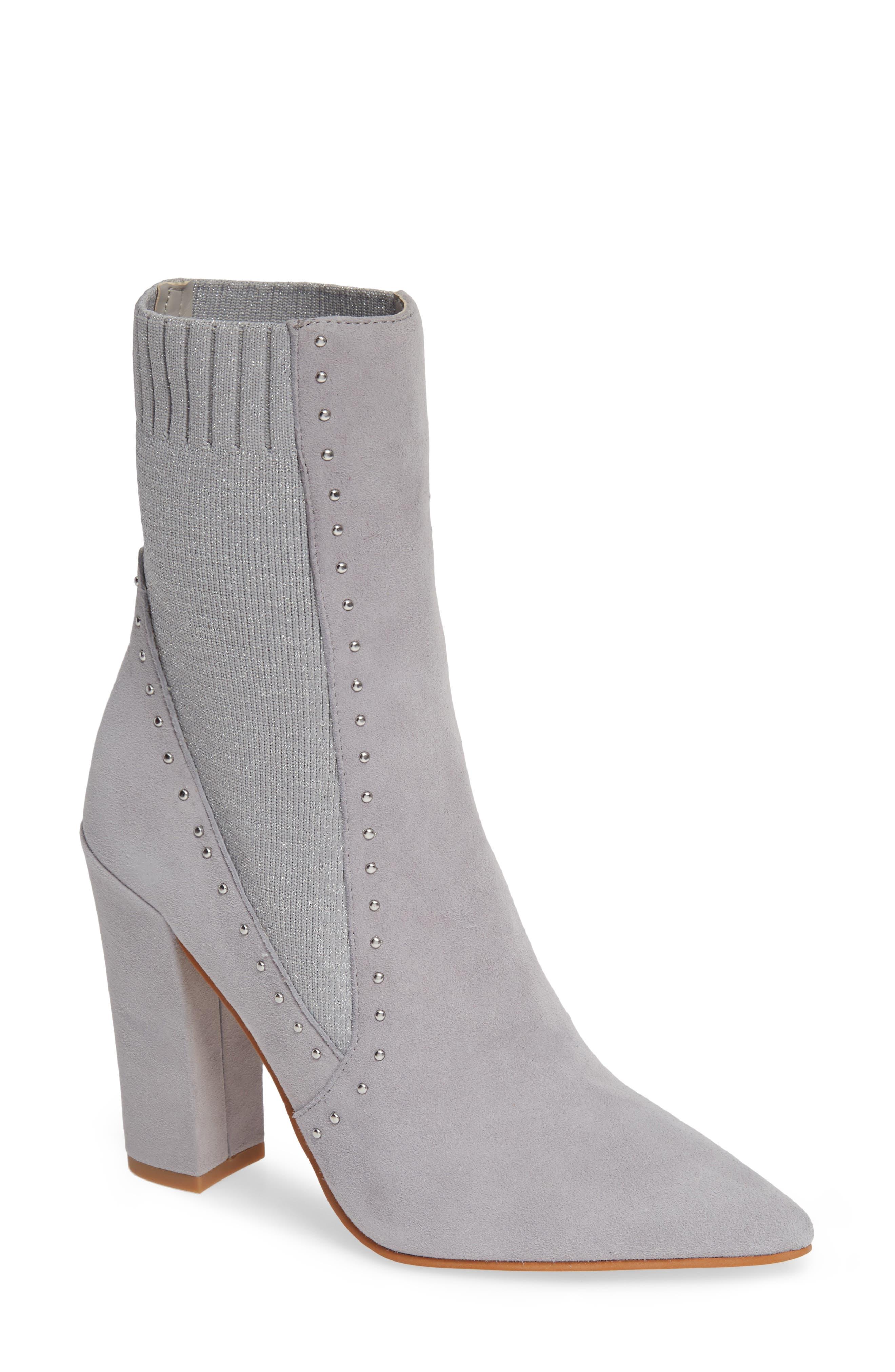 Dolce Vita Echo Sock Boot, Metallic
