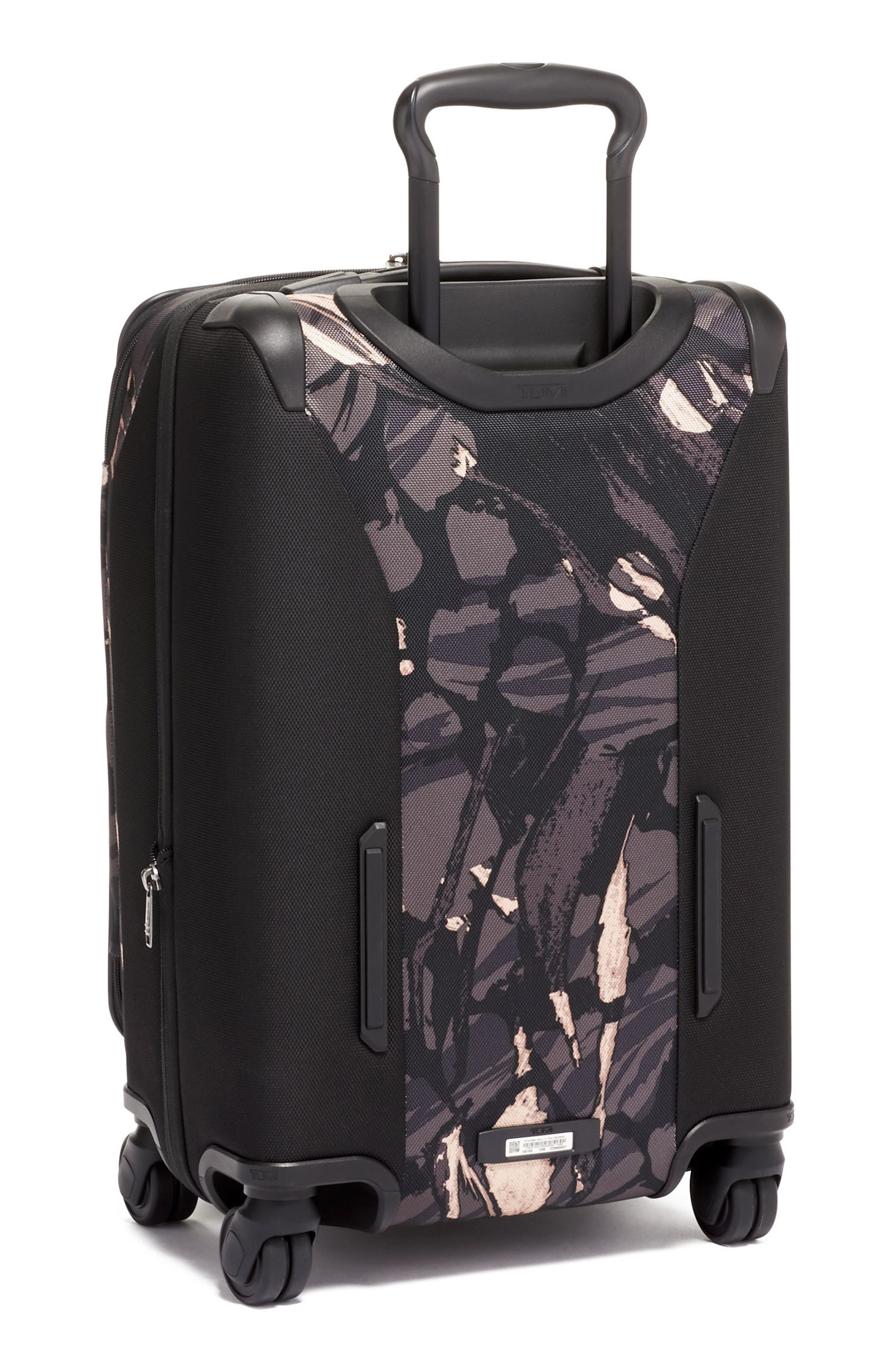 Merge 22-Inch International Expandable Rolling Carry-On,                             Alternate thumbnail 4, color,                             GREY HIGHLANDS PRINT