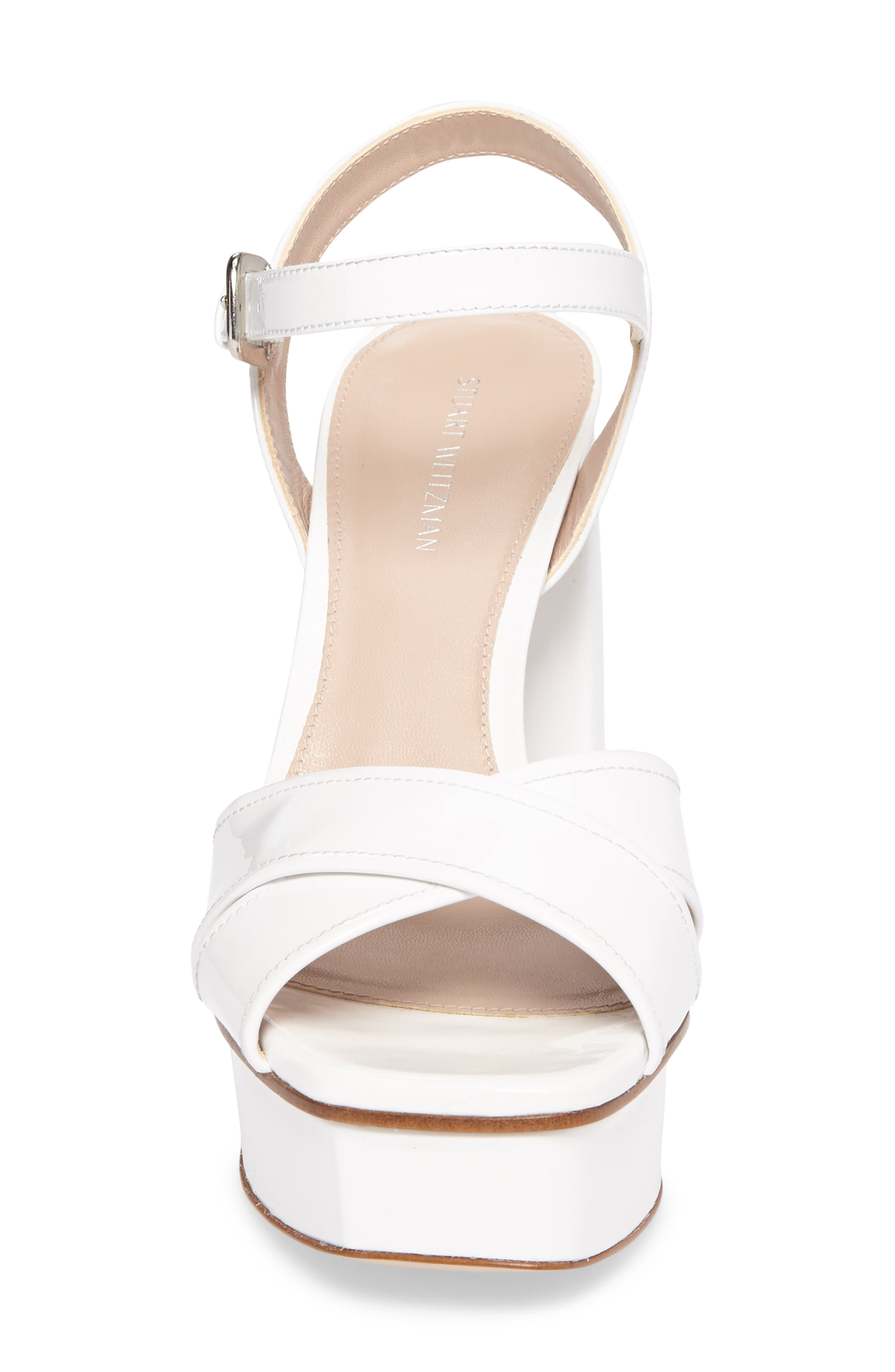 Exposed Platform Sandal,                             Alternate thumbnail 17, color,