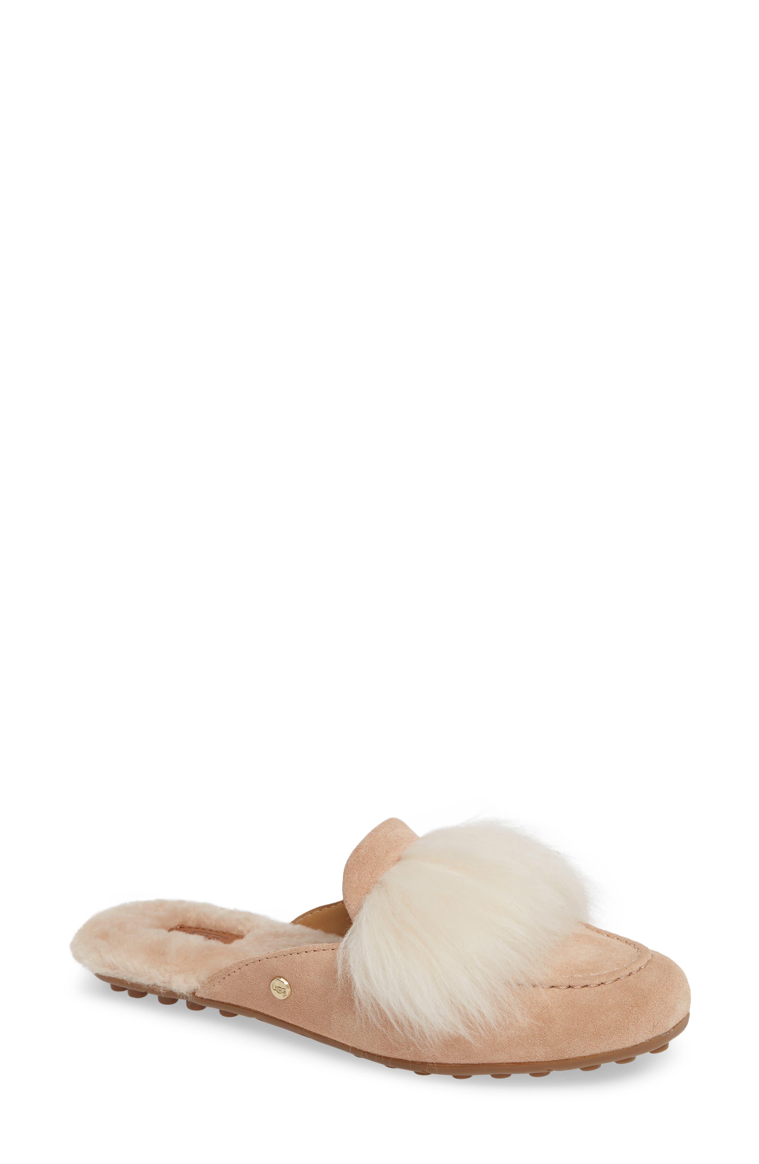 Ugg Shaine Wisp Genuine Shearling Slipper, Pink
