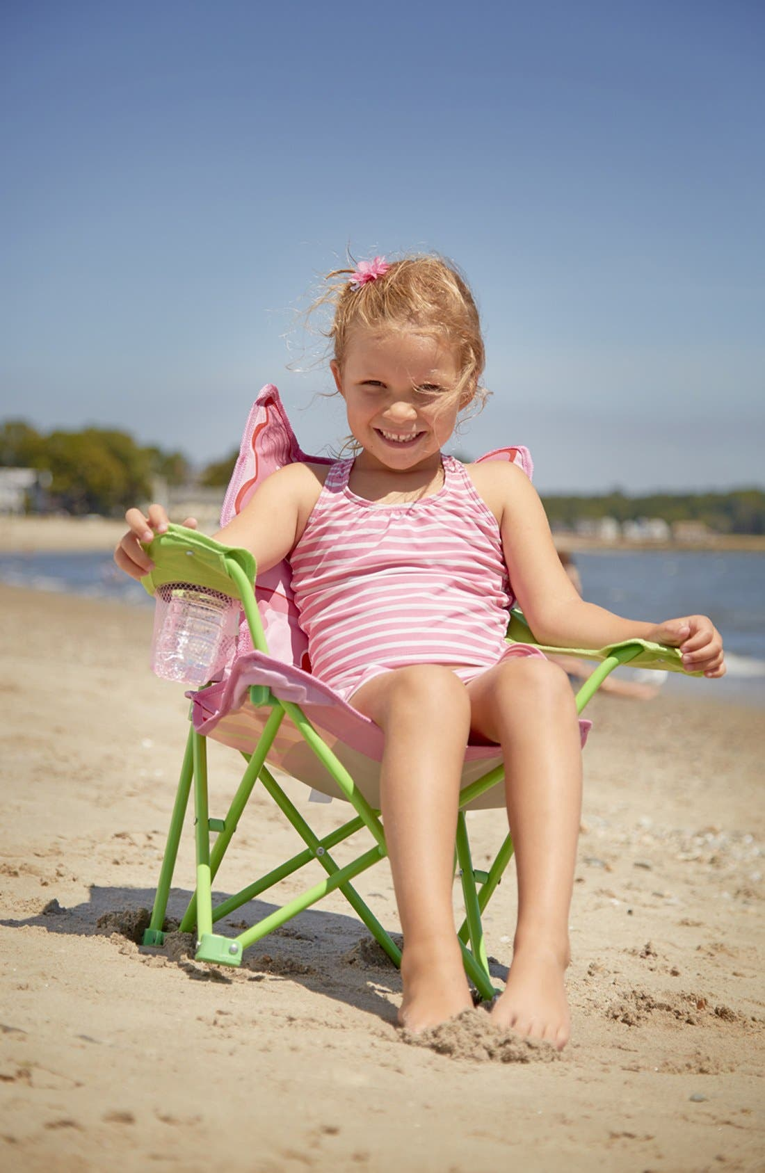 'Bella Butterfly' Folding Chair,                             Alternate thumbnail 2, color,                             650