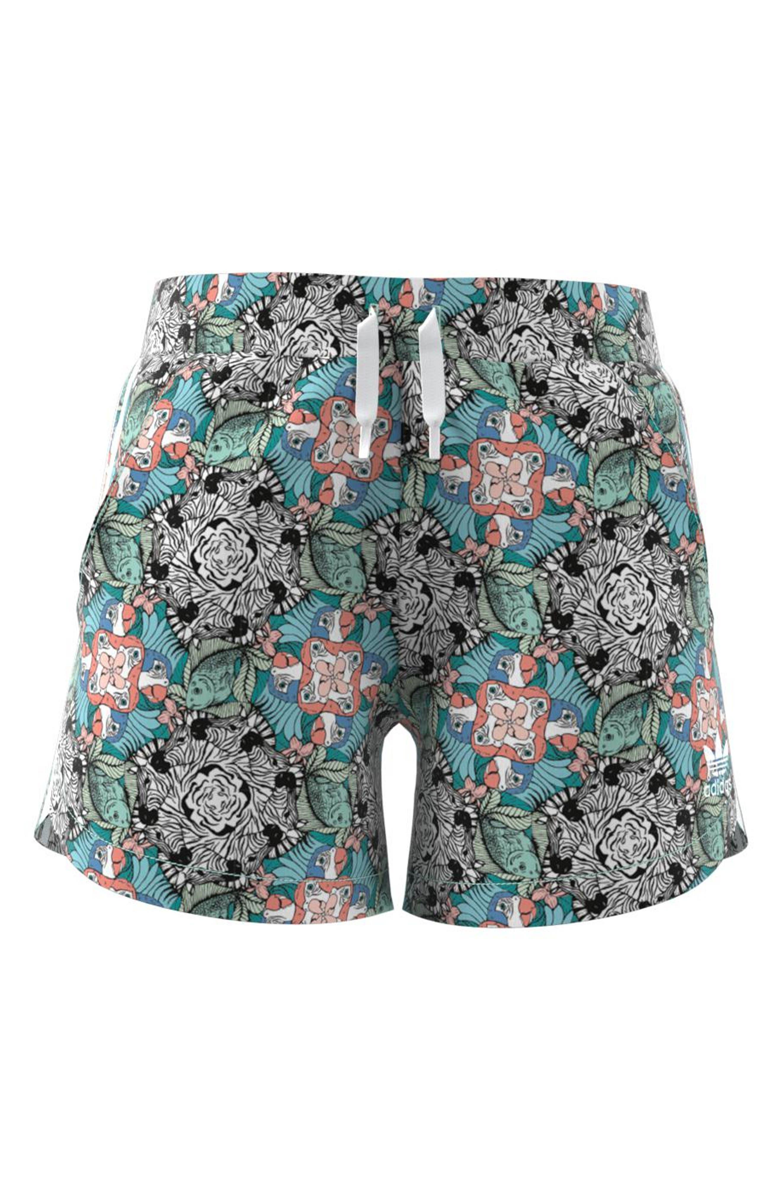 Zoo Shorts,                             Alternate thumbnail 5, color,                             MULTI-COLOR / WHITE