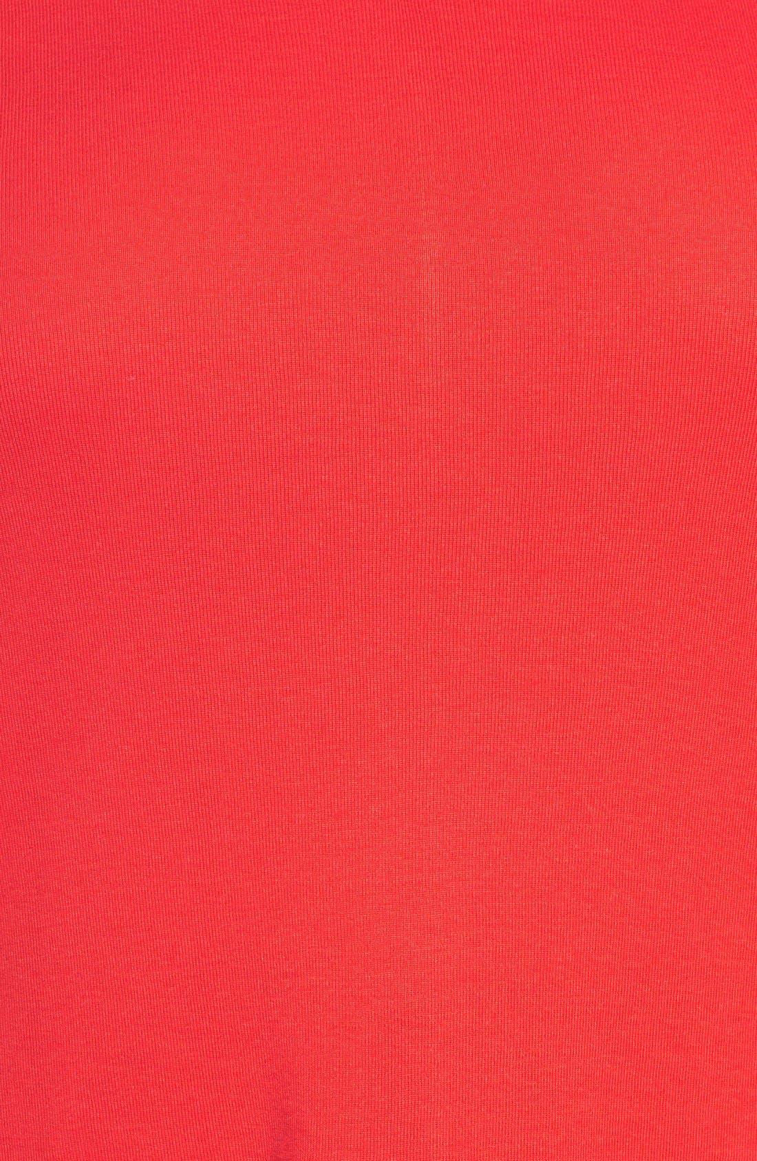 Short Sleeve V-Neck Tee,                             Alternate thumbnail 167, color,