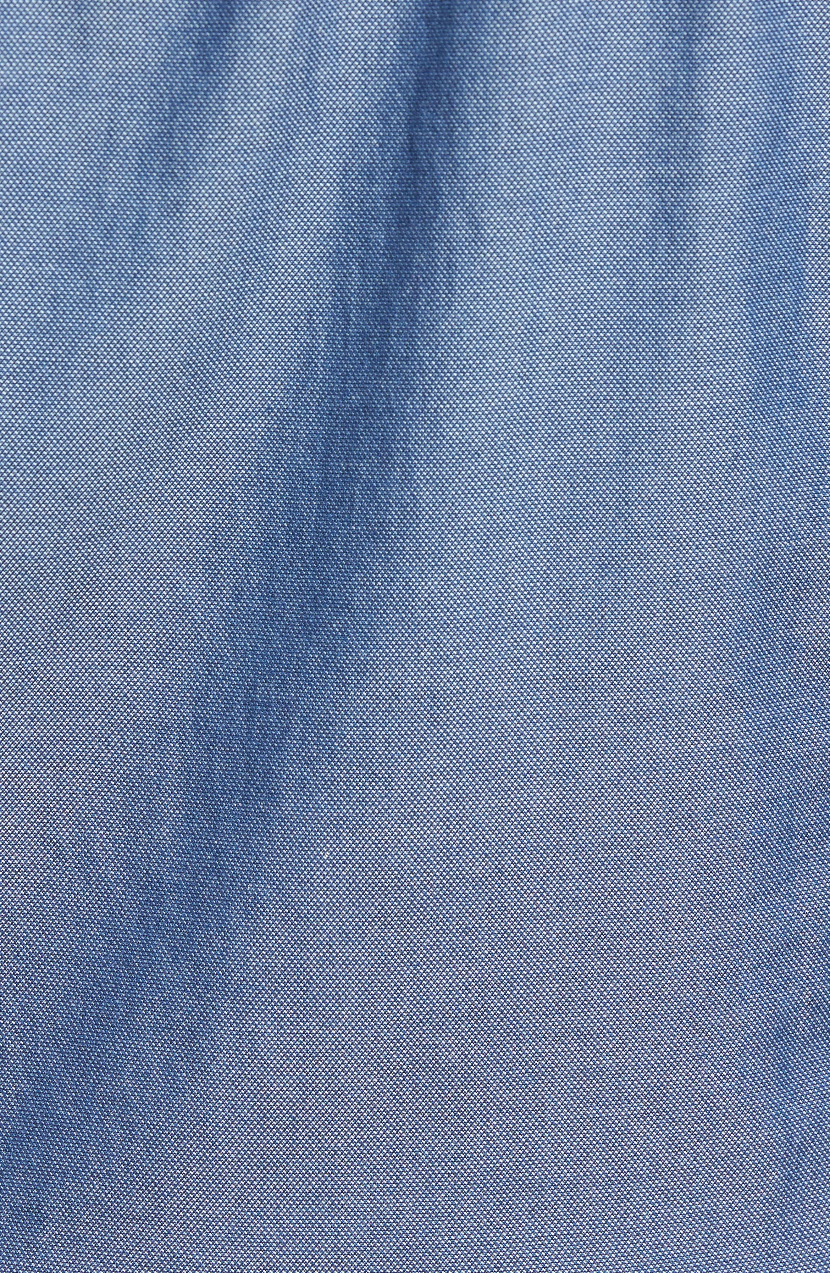 Classic Fit Bird's Eye Sport Shirt,                             Alternate thumbnail 5, color,                             410