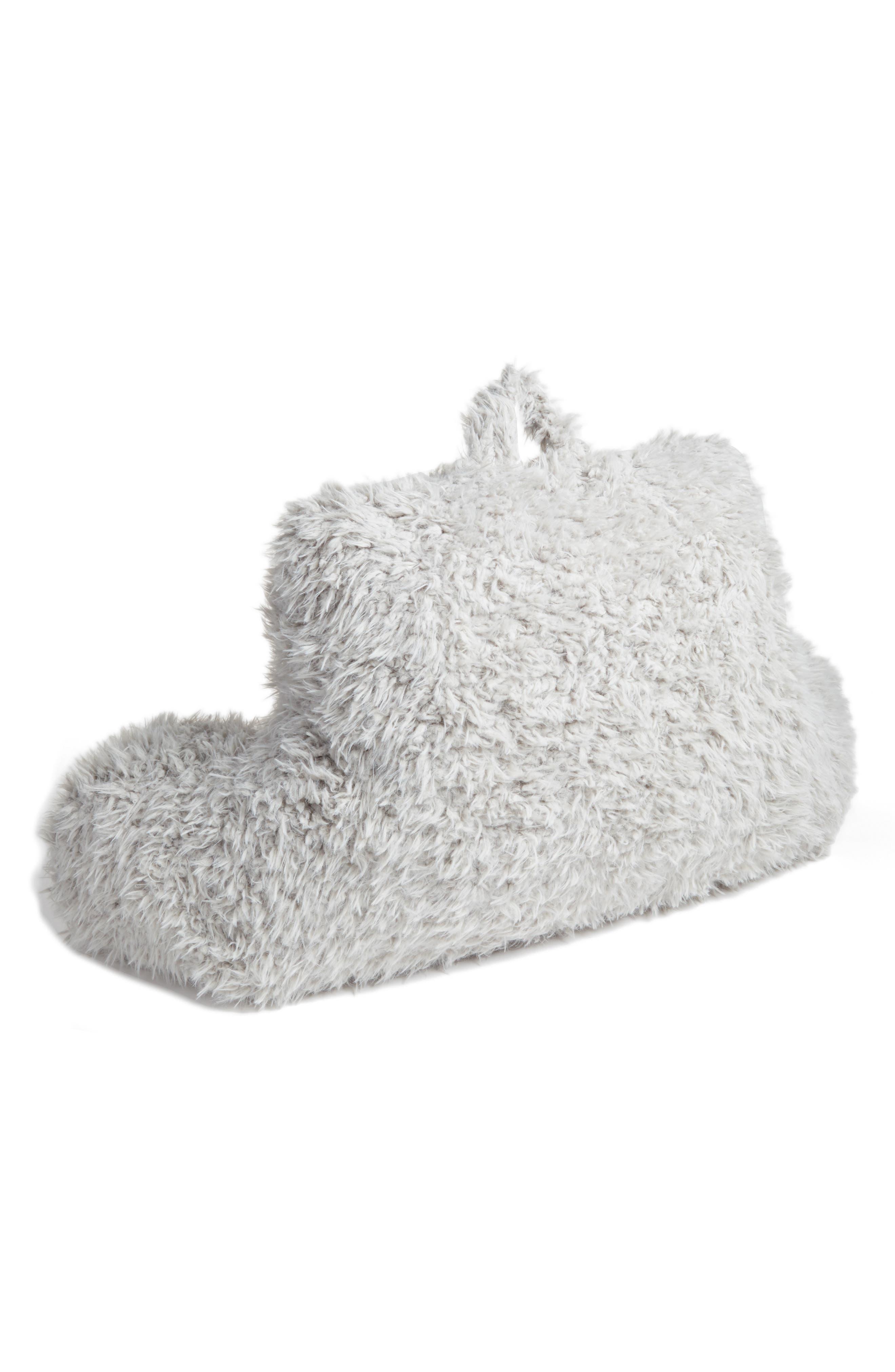 Shaggy Faux Fur Backrest Pillow,                             Alternate thumbnail 2, color,                             020