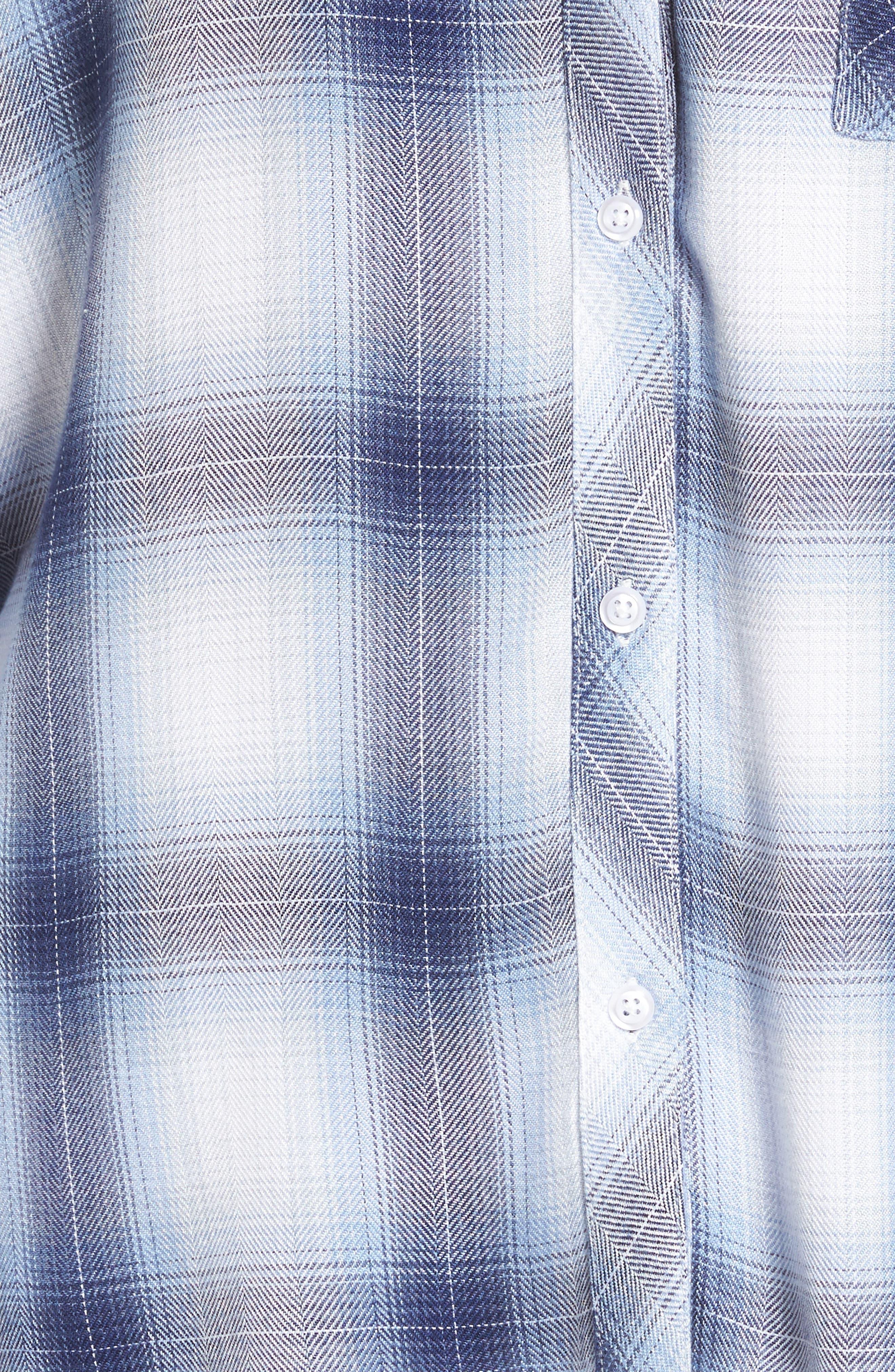 Hunter Plaid Shirt,                             Alternate thumbnail 663, color,
