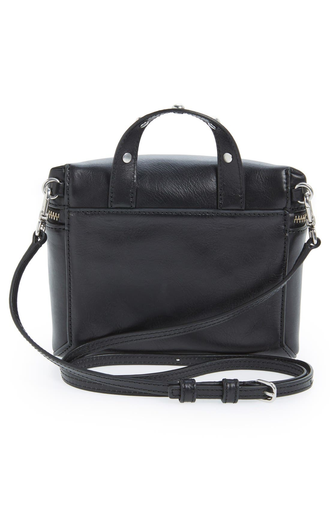 MARC BY MARC JACOBS 'Canteen Rivets' Crossbody Bag,                             Alternate thumbnail 2, color,                             001