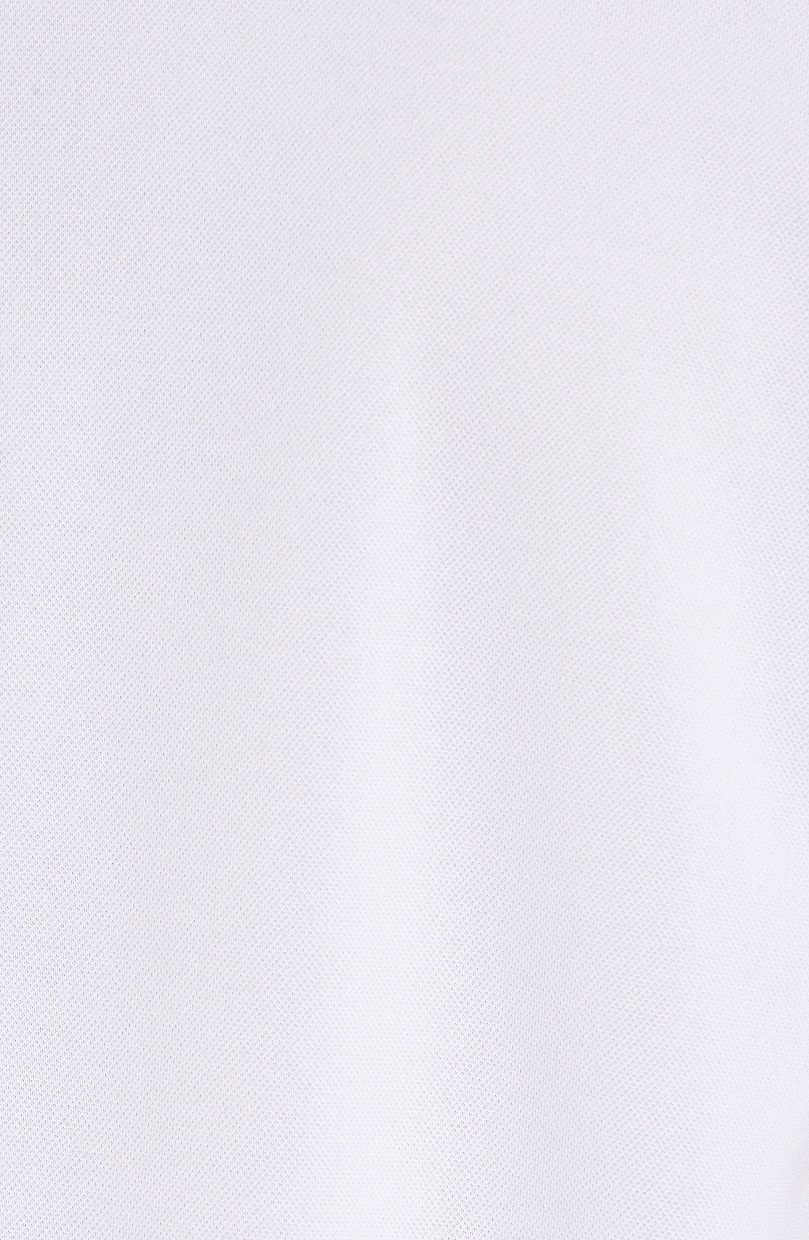 Eastridge Zip Placket Polo,                             Alternate thumbnail 5, color,                             100