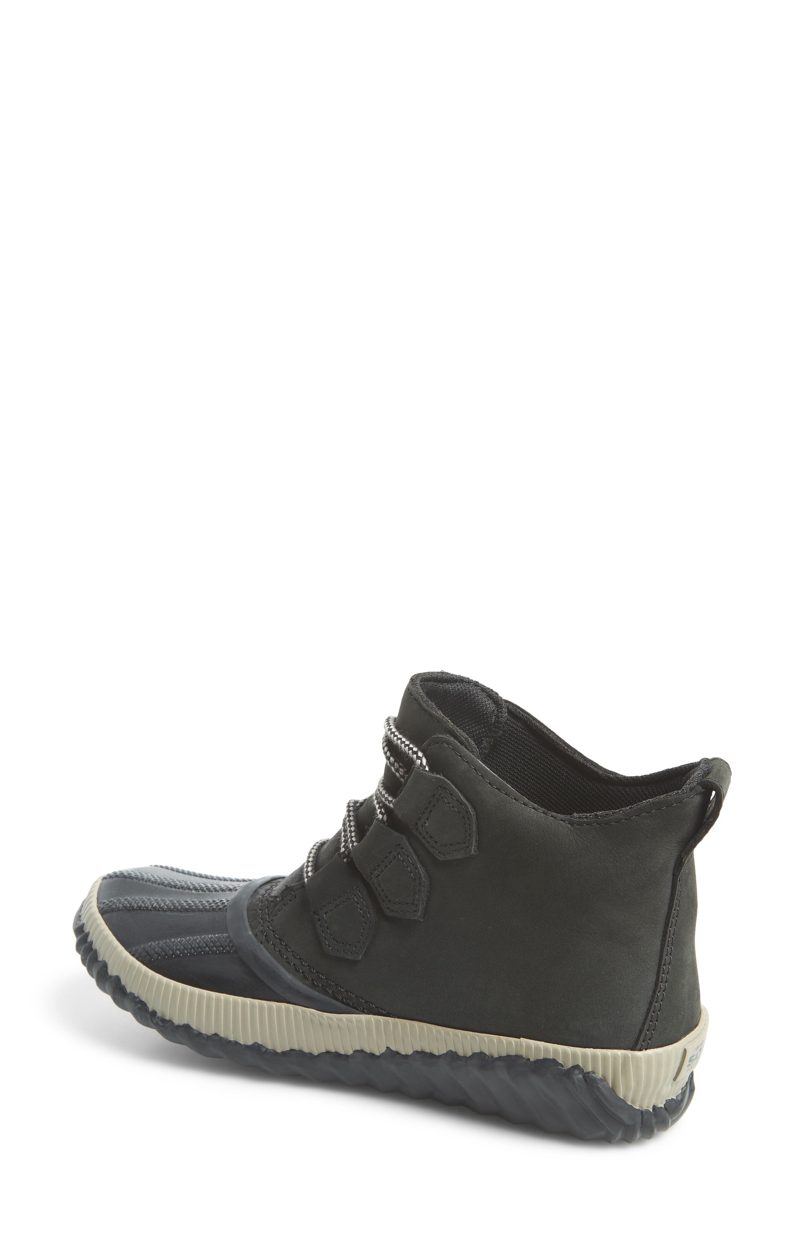 Out N About Plus Waterproof Bootie,                             Alternate thumbnail 2, color,                             BLACK