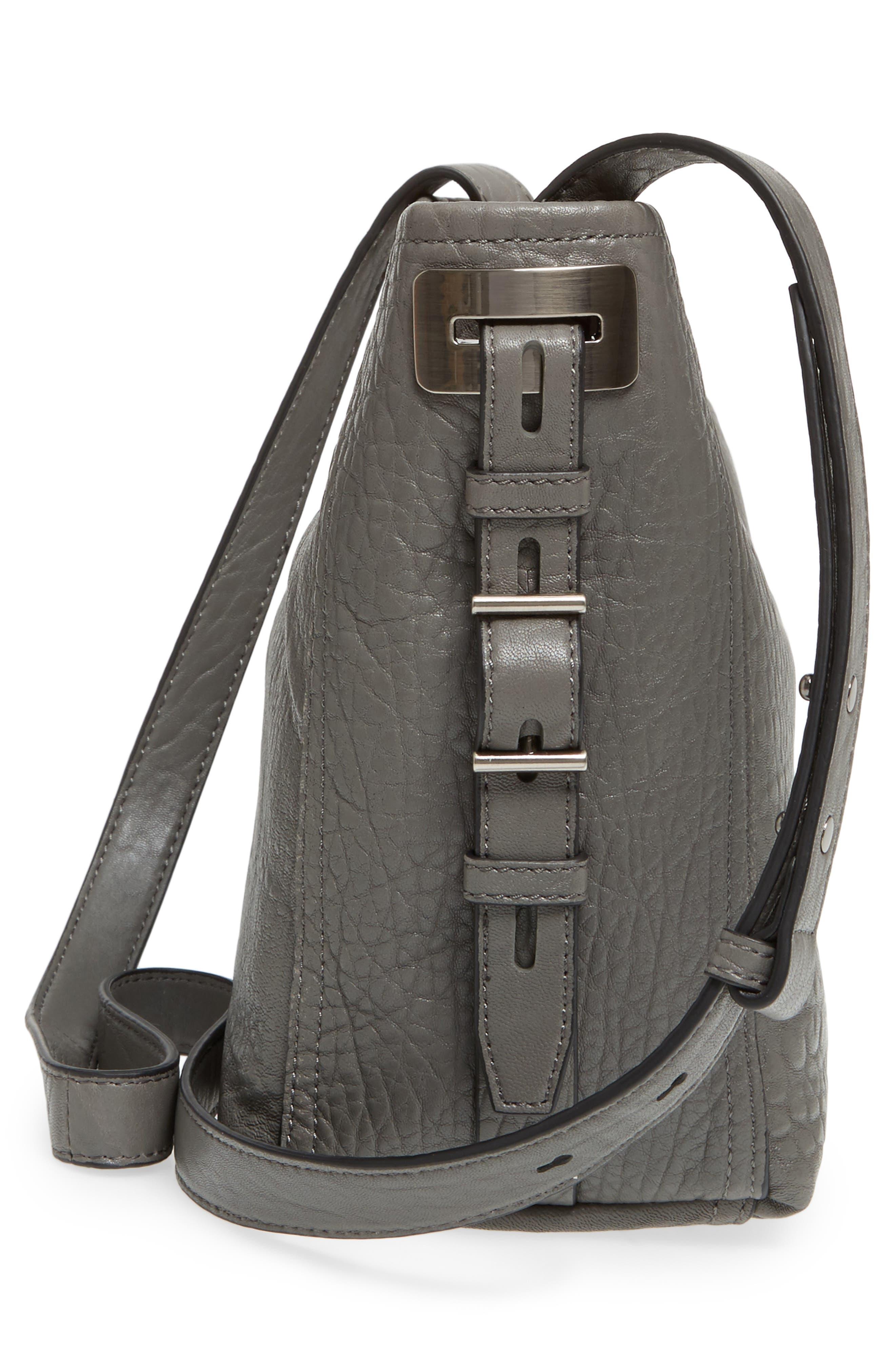 Fava Leather Bucket Bag,                             Alternate thumbnail 14, color,