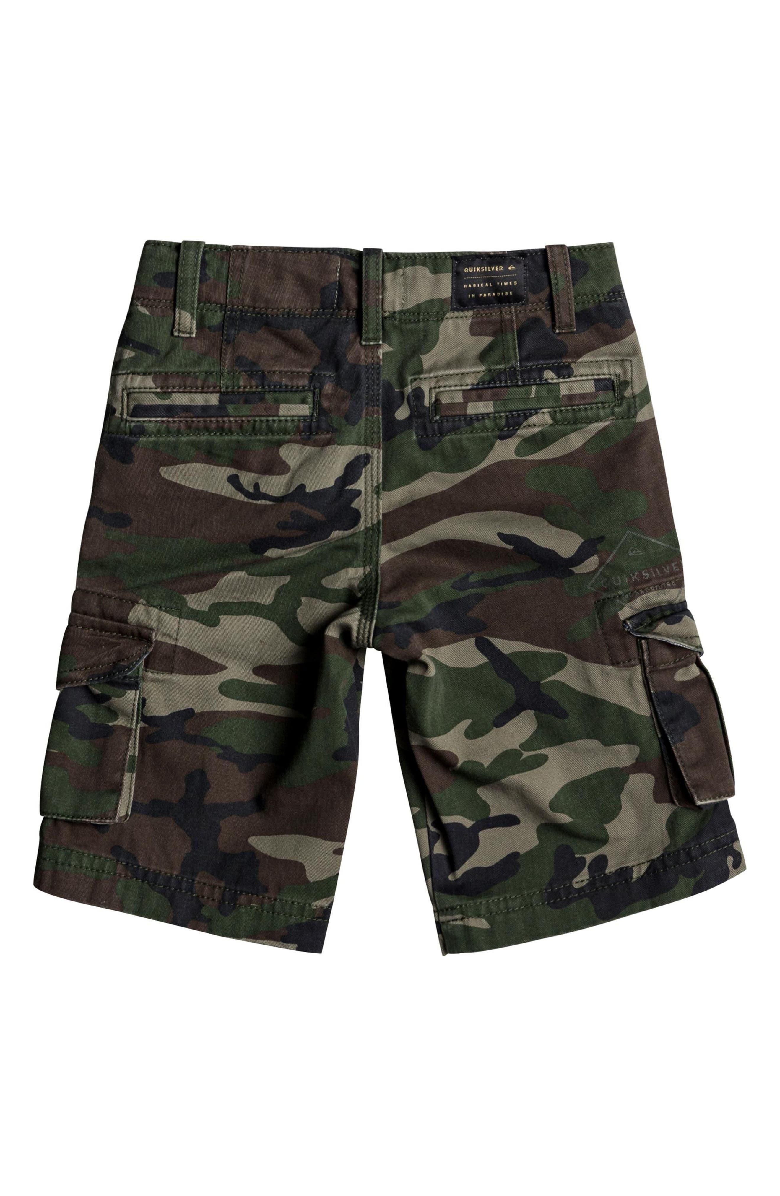 Crucial Battle Cargo Shorts,                             Alternate thumbnail 2, color,                             CAMO PRINT