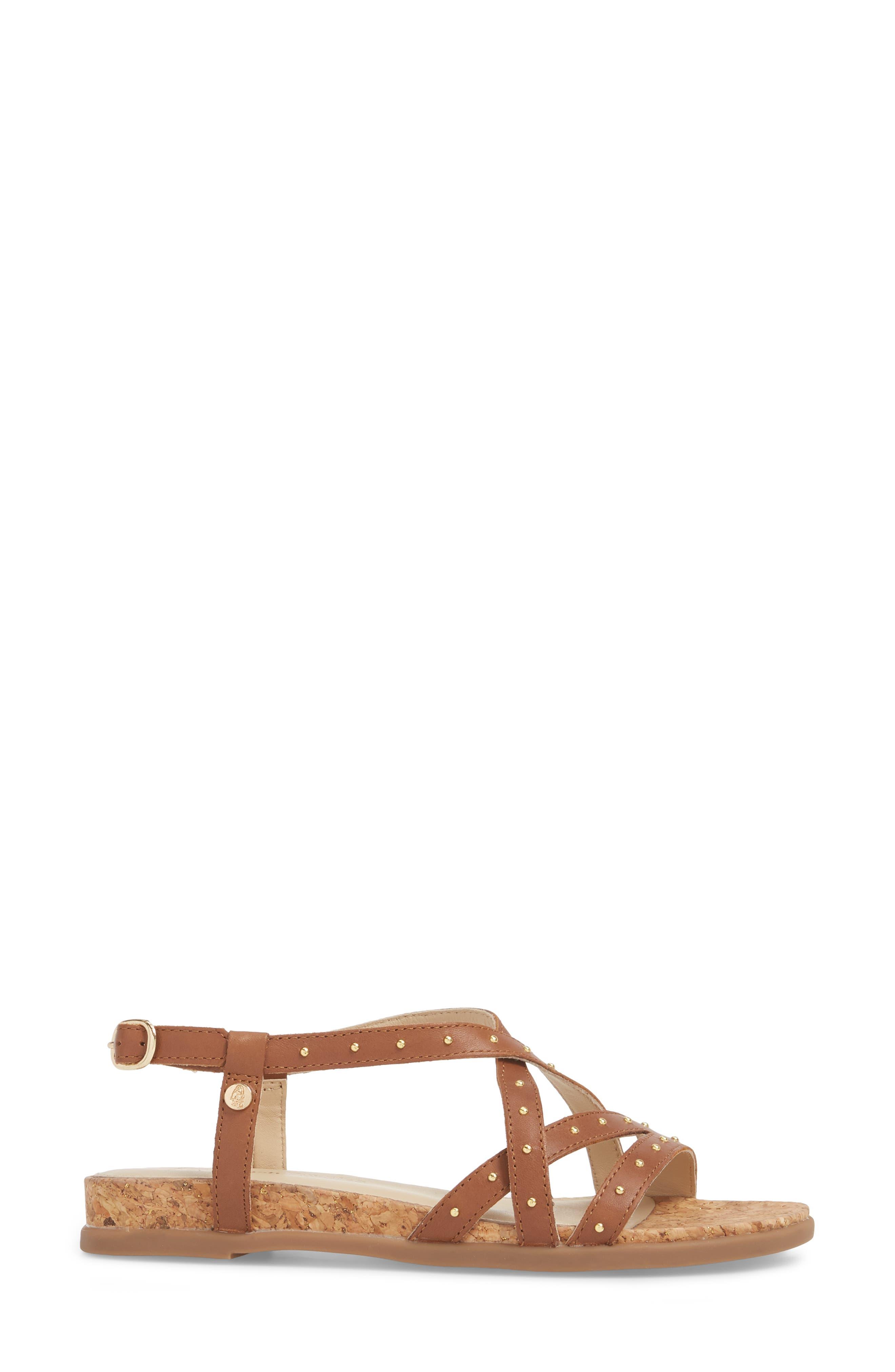 Dalmatian Studded Sandal,                             Alternate thumbnail 10, color,