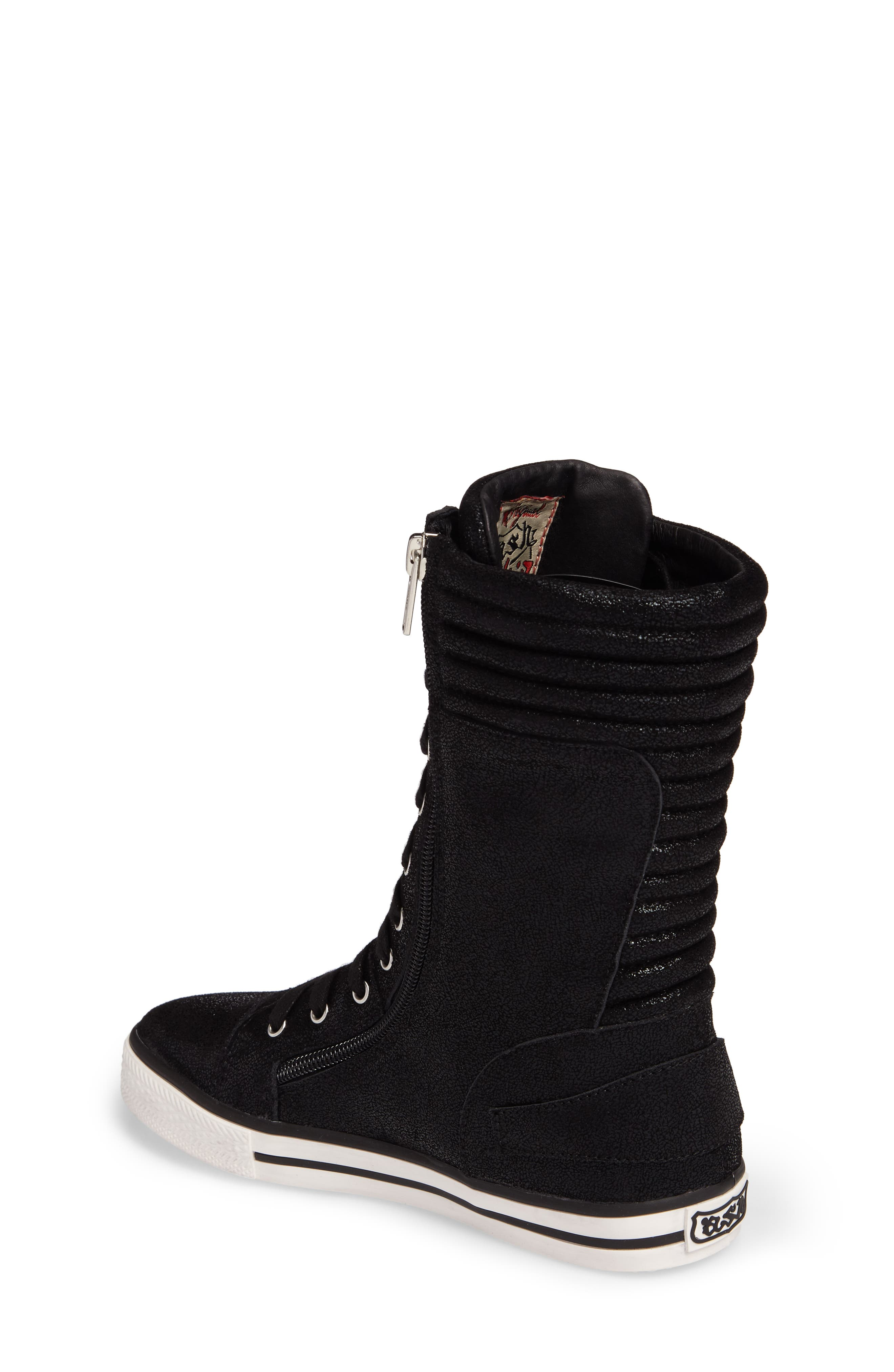 Vava Cate Ultra High Top Sneaker,                             Alternate thumbnail 2, color,                             001