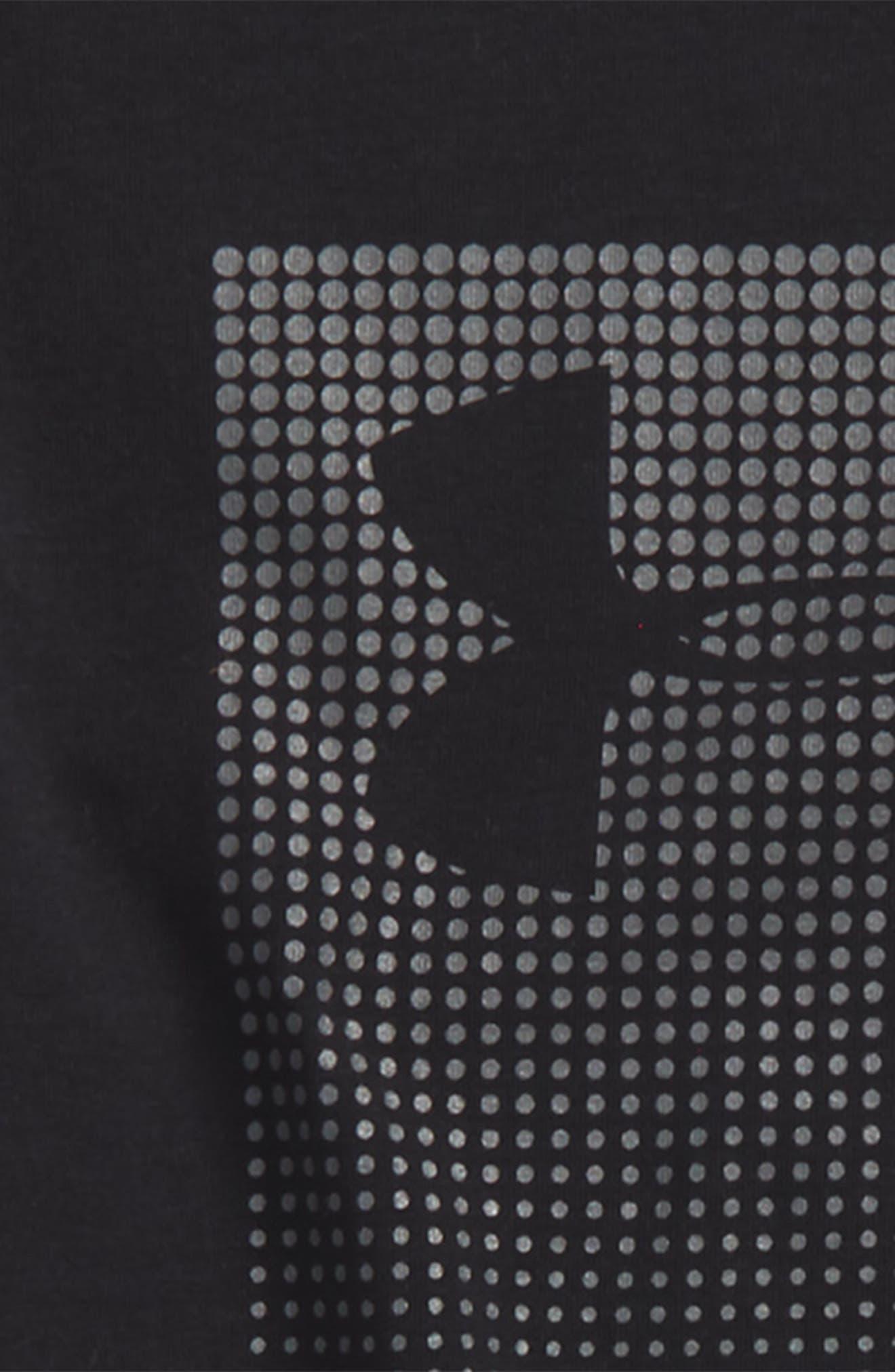Long Sleeve HeatGear<sup>®</sup> T-Shirt,                             Alternate thumbnail 2, color,                             001