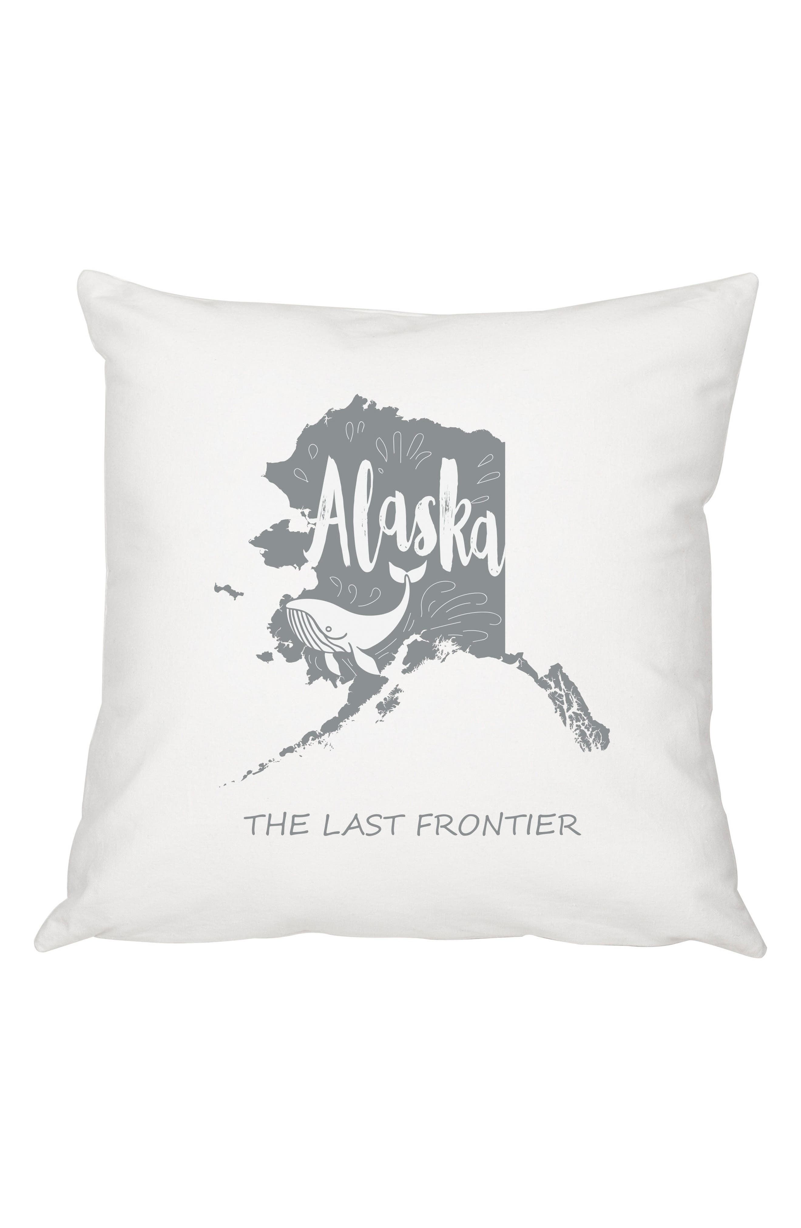 My State Accent Pillow,                         Main,                         color, 020
