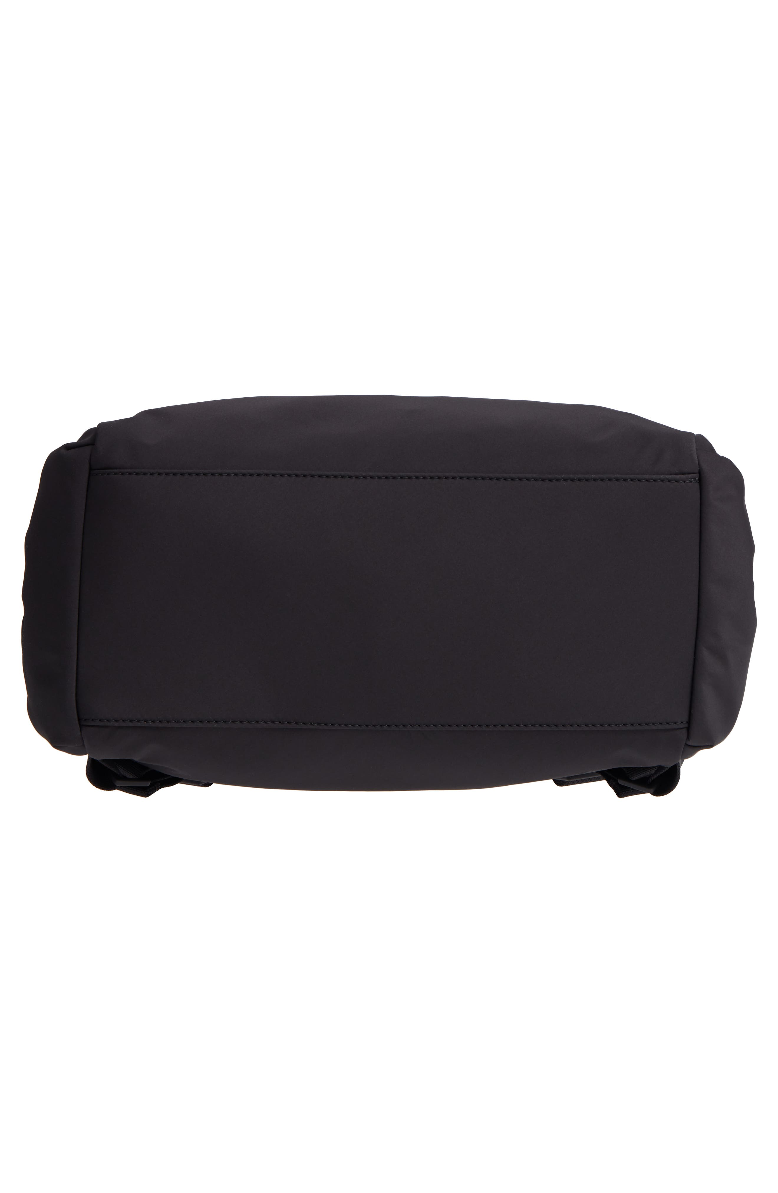 that's the spirit nylon backpack,                             Alternate thumbnail 6, color,                             BLACK