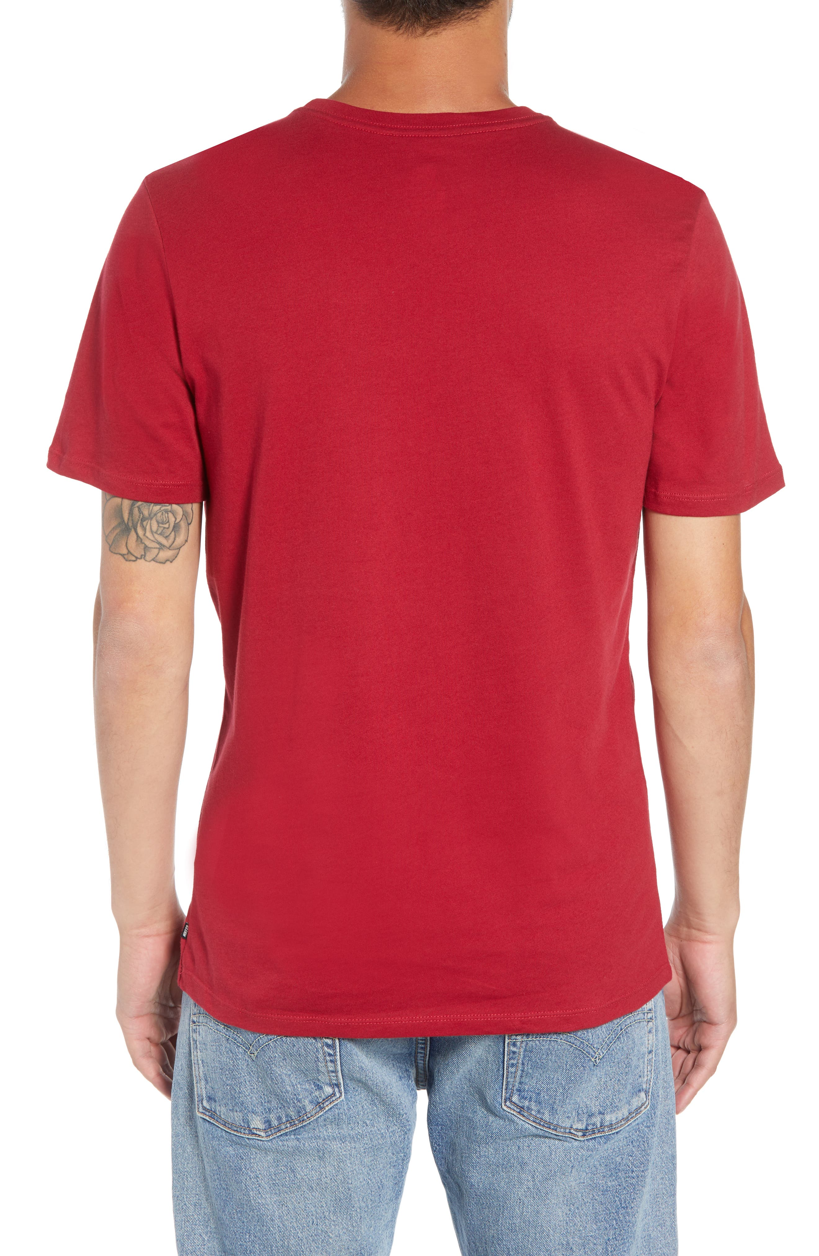 Year of the Dog T-Shirt,                             Alternate thumbnail 2, color,                             RED CRUSH