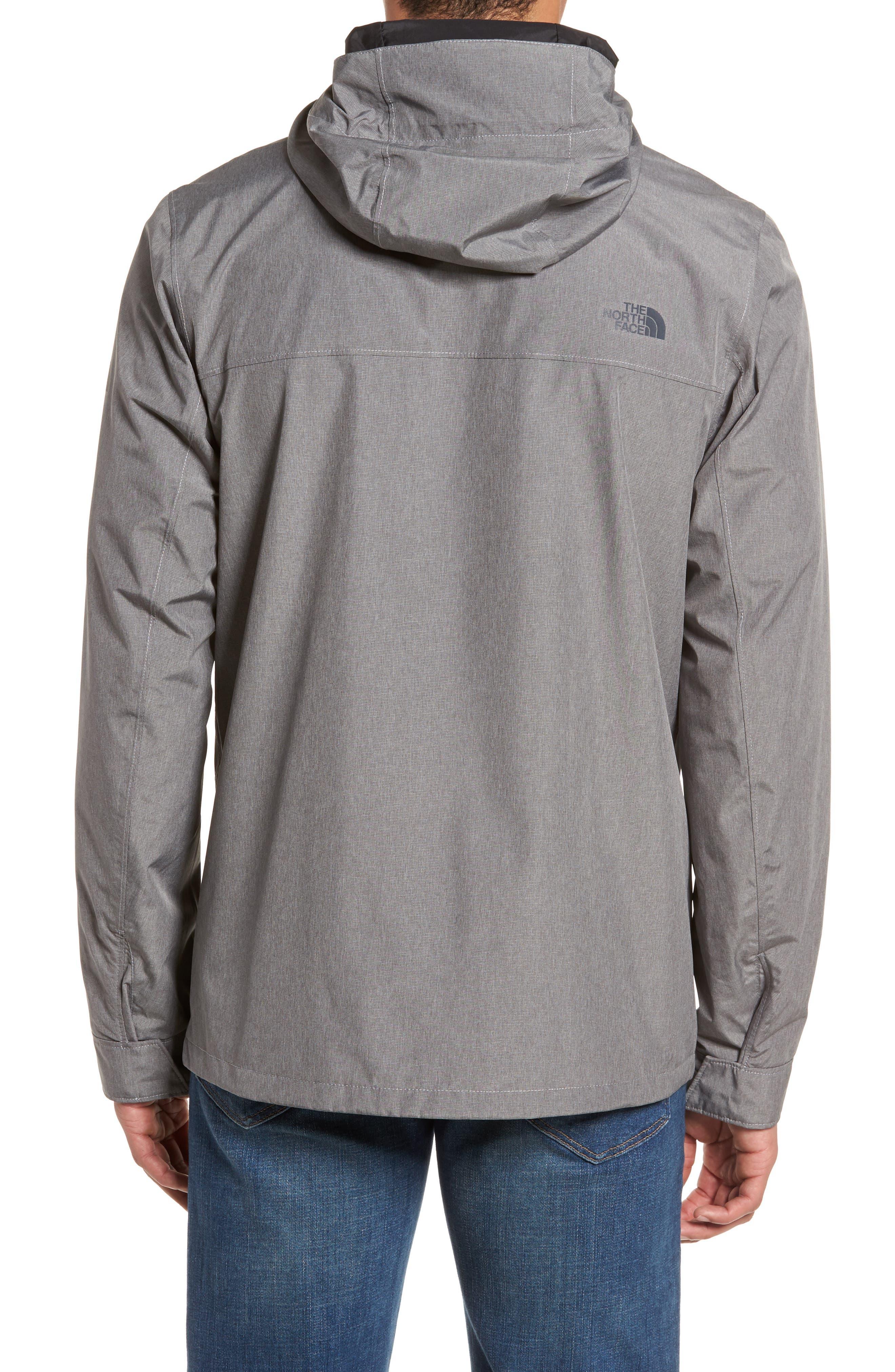 Jenison II Insulated Waterproof Jacket,                             Alternate thumbnail 2, color,                             TNF MEDIUM GREY HEATHER