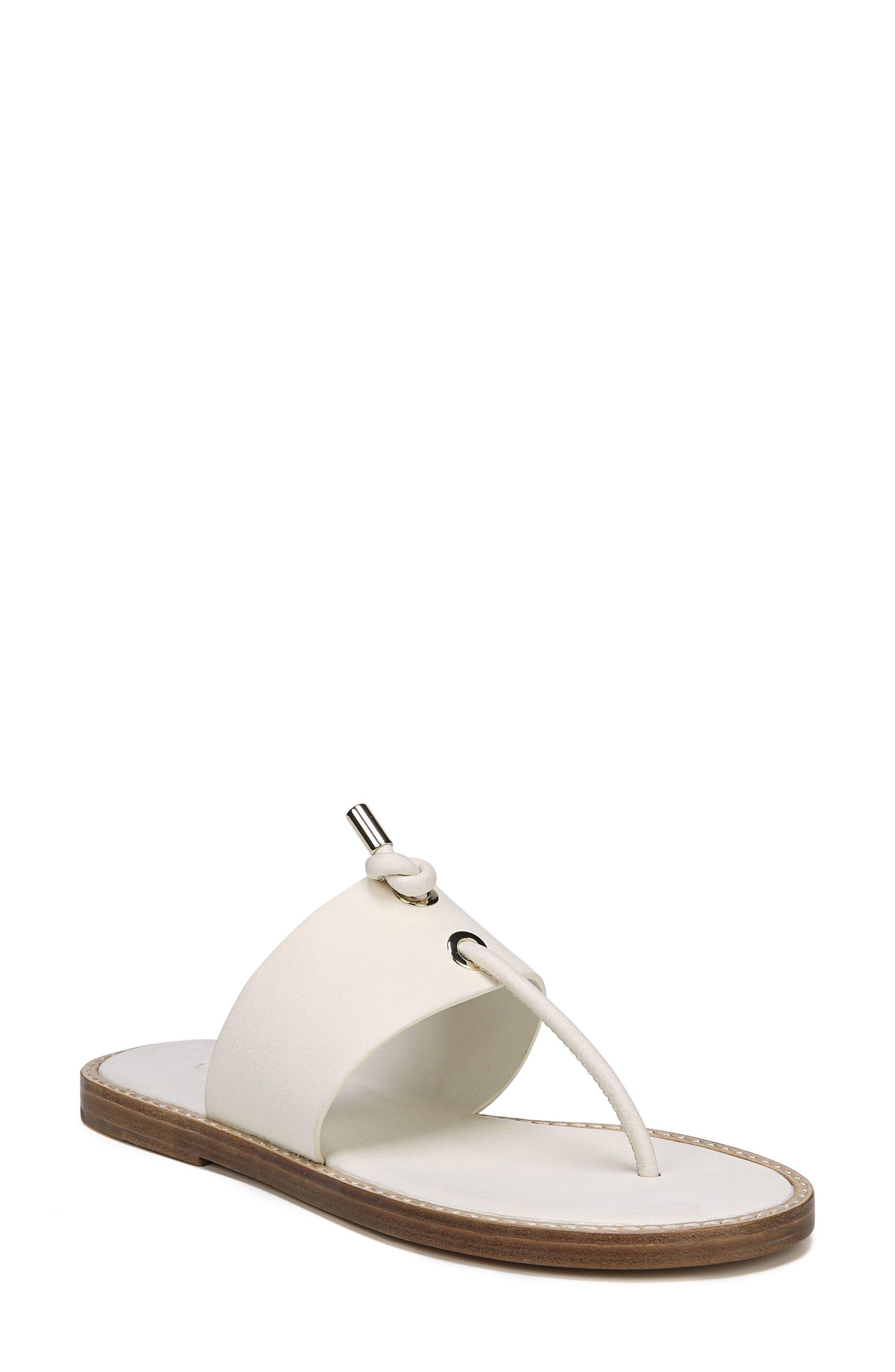 Caelan Sandal,                         Main,                         color, OFF WHITE