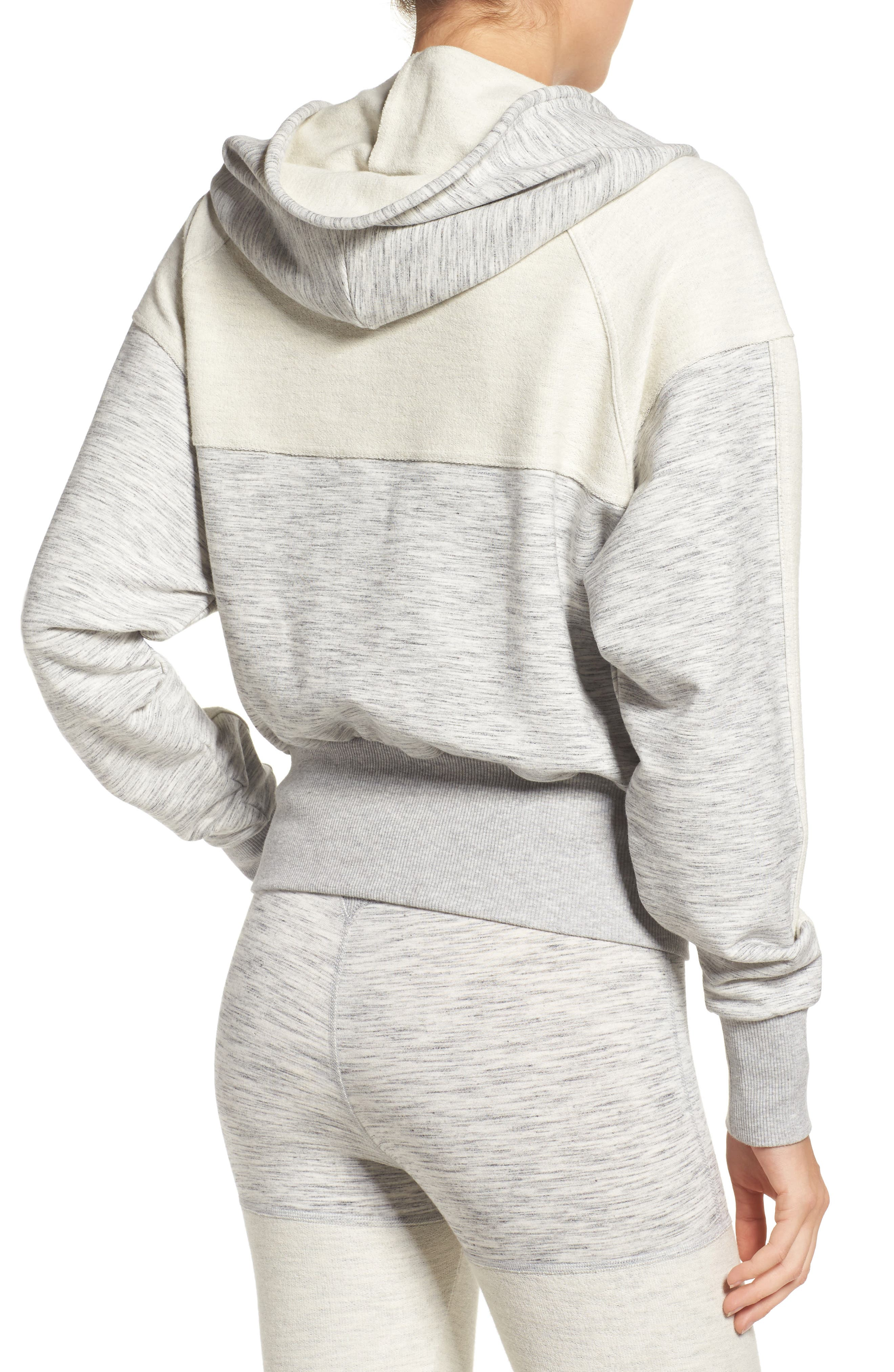 Shadowboxer Hoodie,                             Alternate thumbnail 8, color,                             GREY