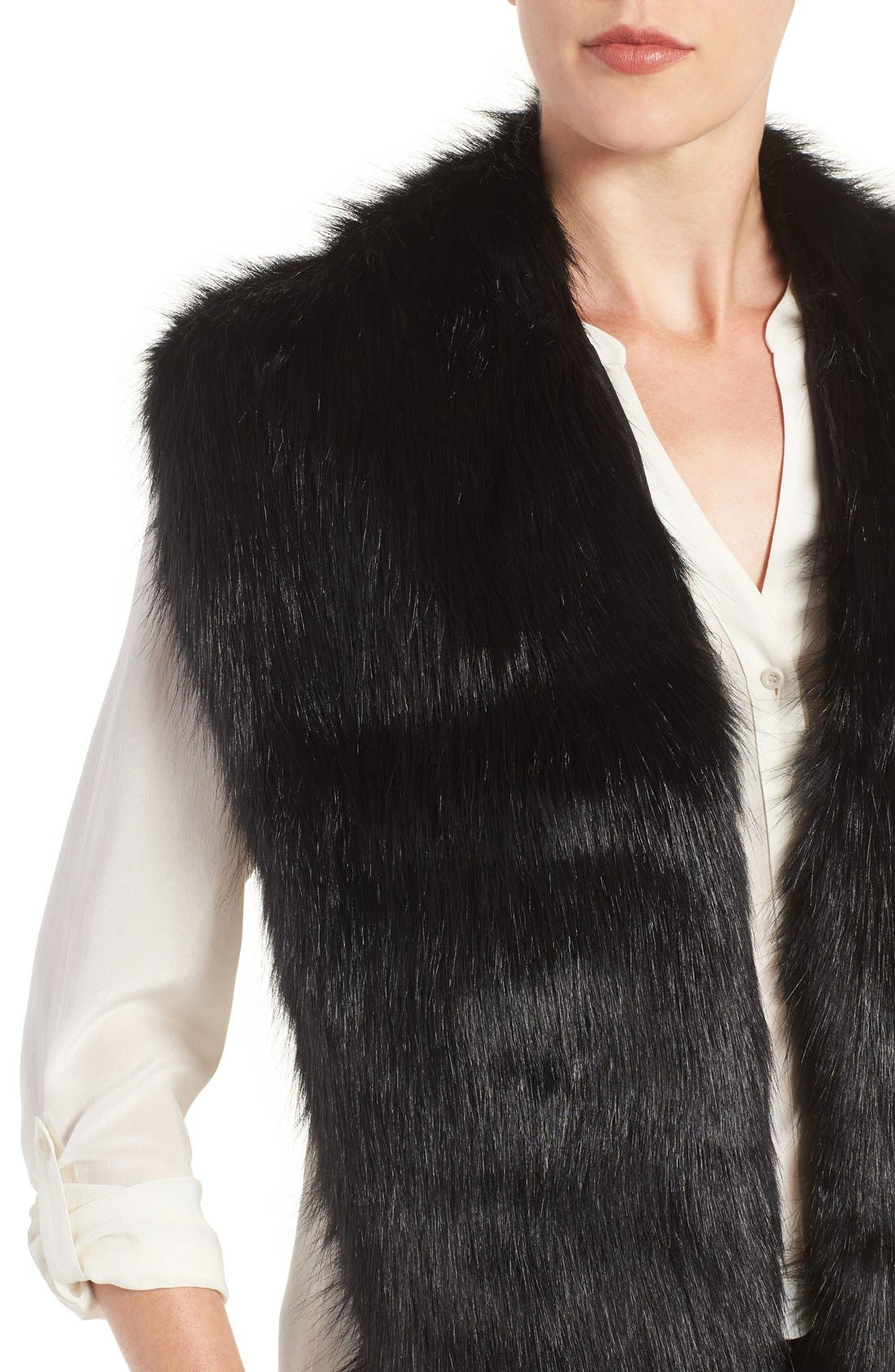 Faux Mink Stole,                             Alternate thumbnail 17, color,