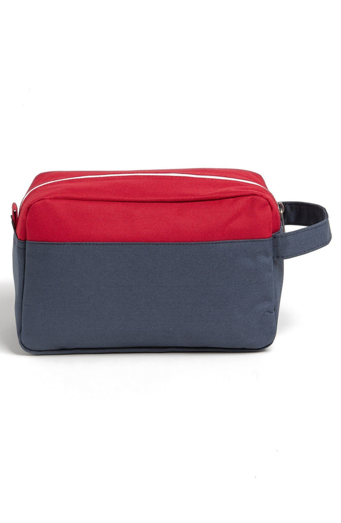 'Chapter' Toiletry Case,                             Alternate thumbnail 2, color,                             NAVY/ RED