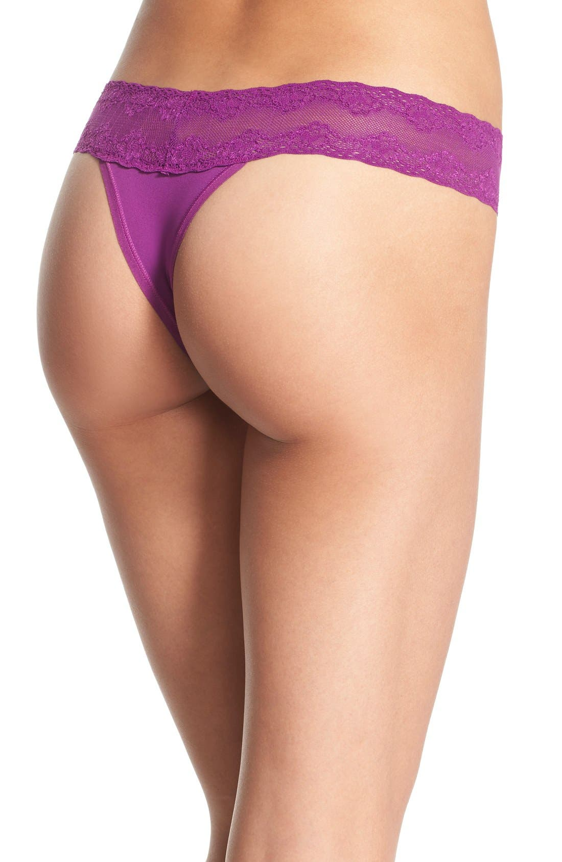 Bliss Perfection Thong,                             Alternate thumbnail 277, color,