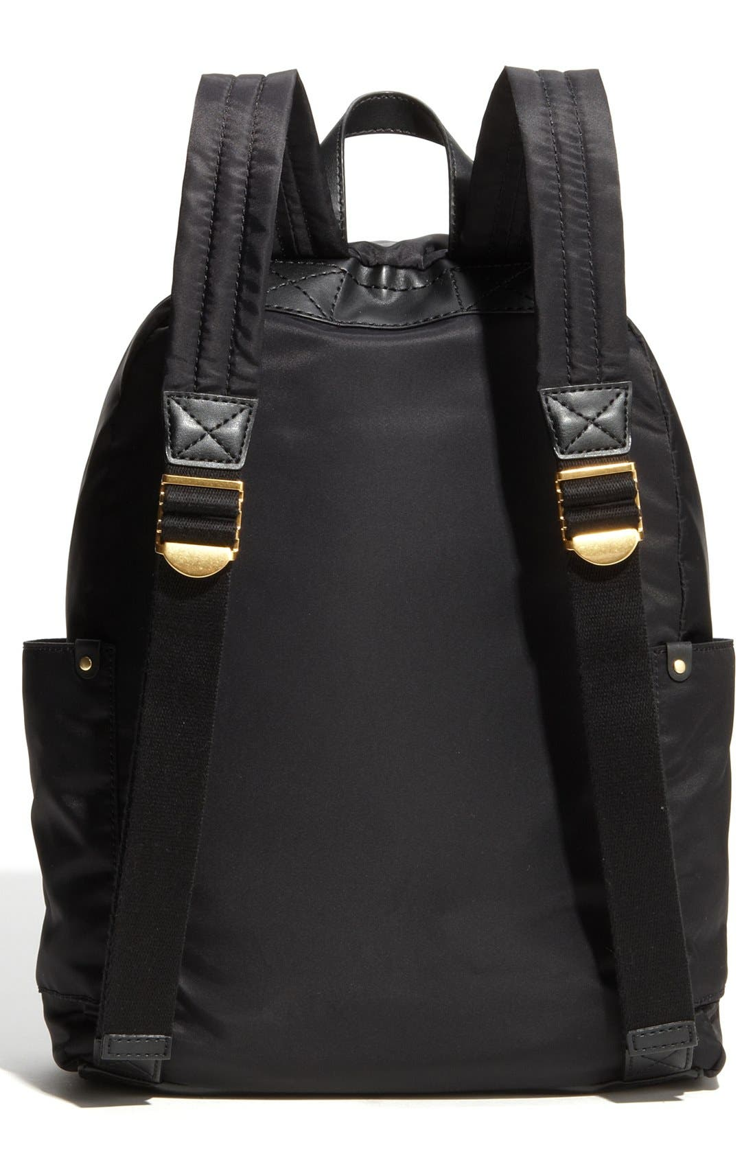 MARC JACOBS,                             MARC BY MARC JACOBS 'Preppy Nylon' Backpack,                             Alternate thumbnail 4, color,                             002