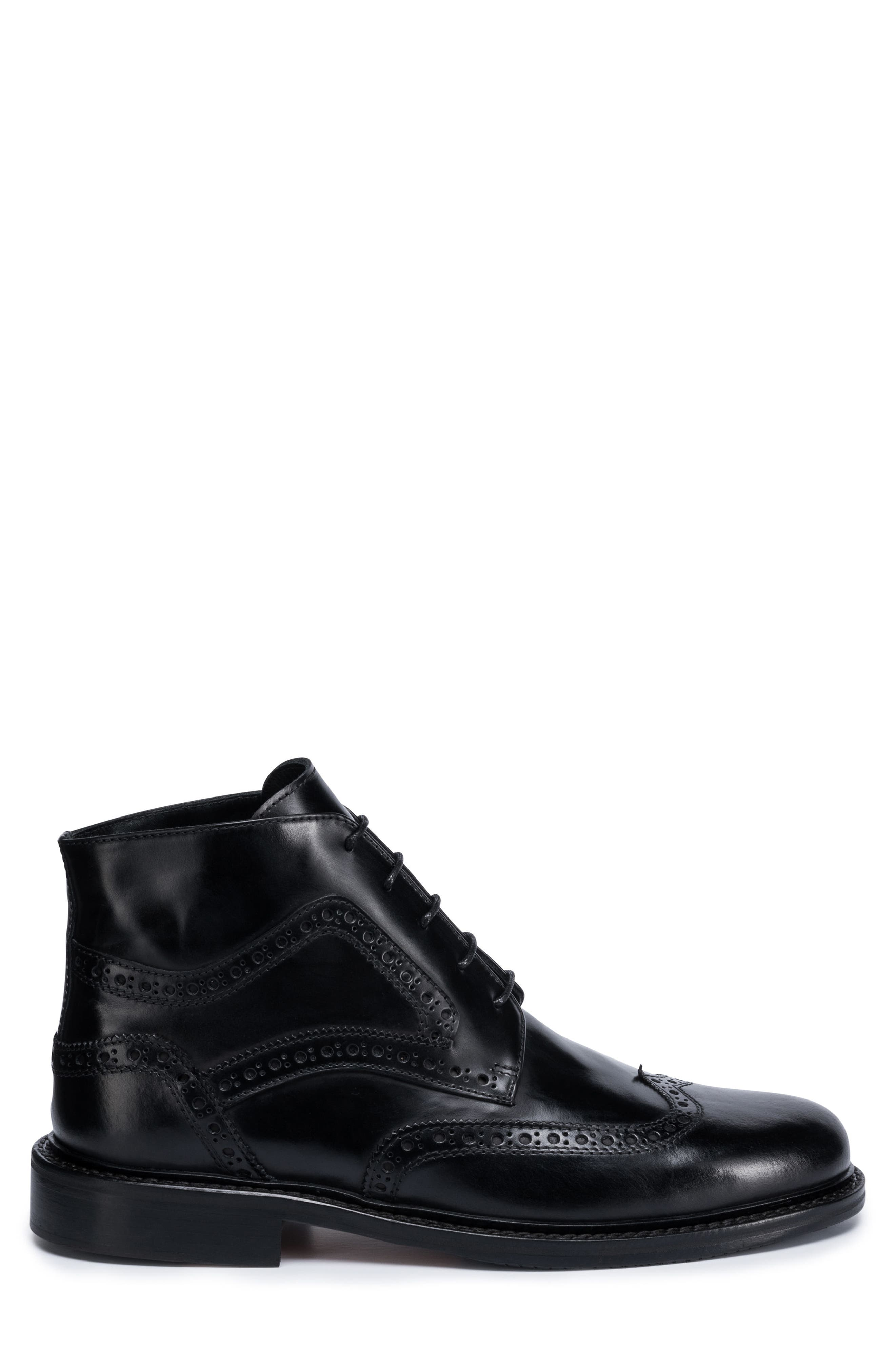 Toscano Wingtip Boot,                             Alternate thumbnail 3, color,                             001