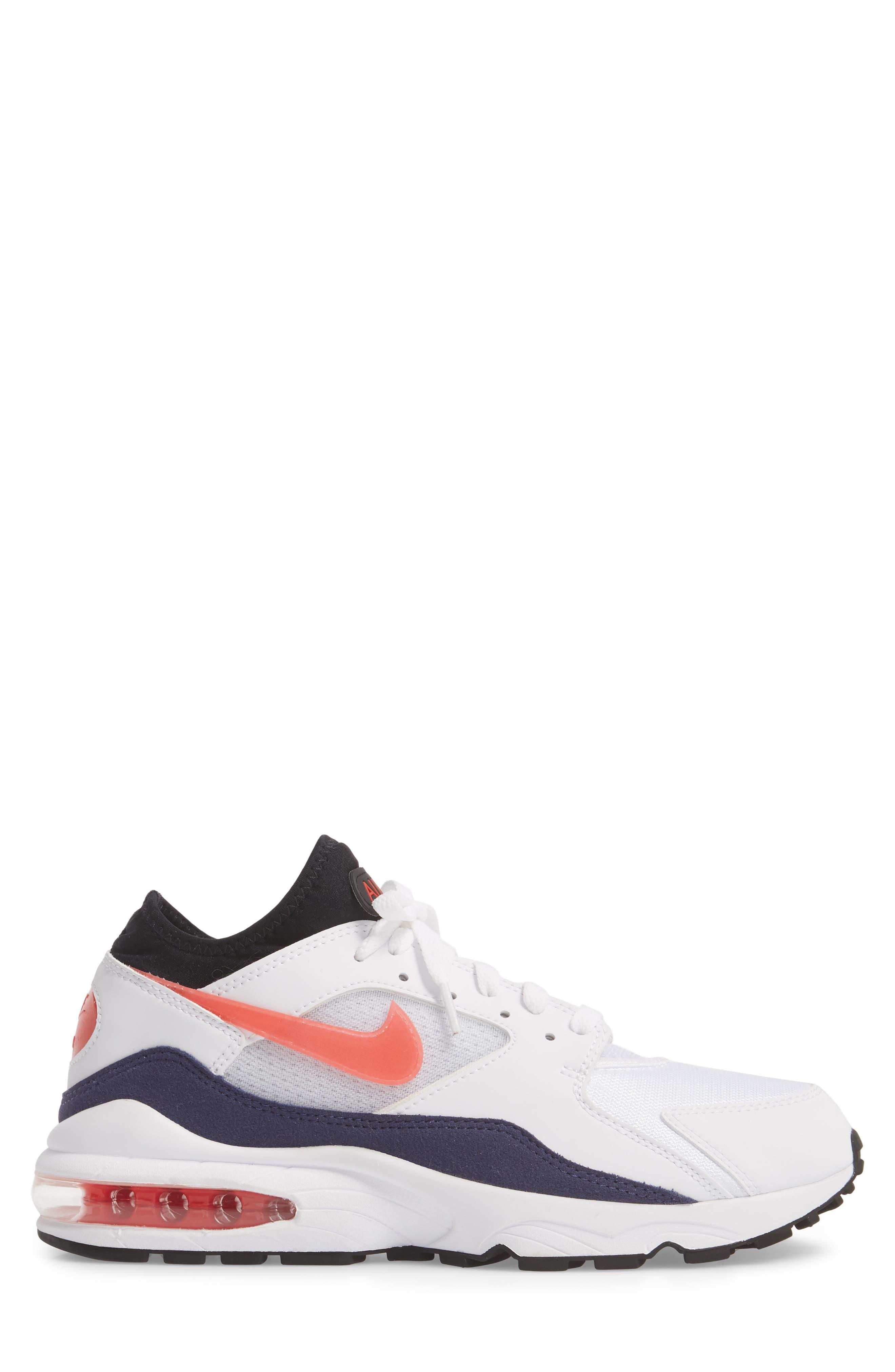 NIKE,                             Air Max 93 Sneaker,                             Alternate thumbnail 3, color,                             102