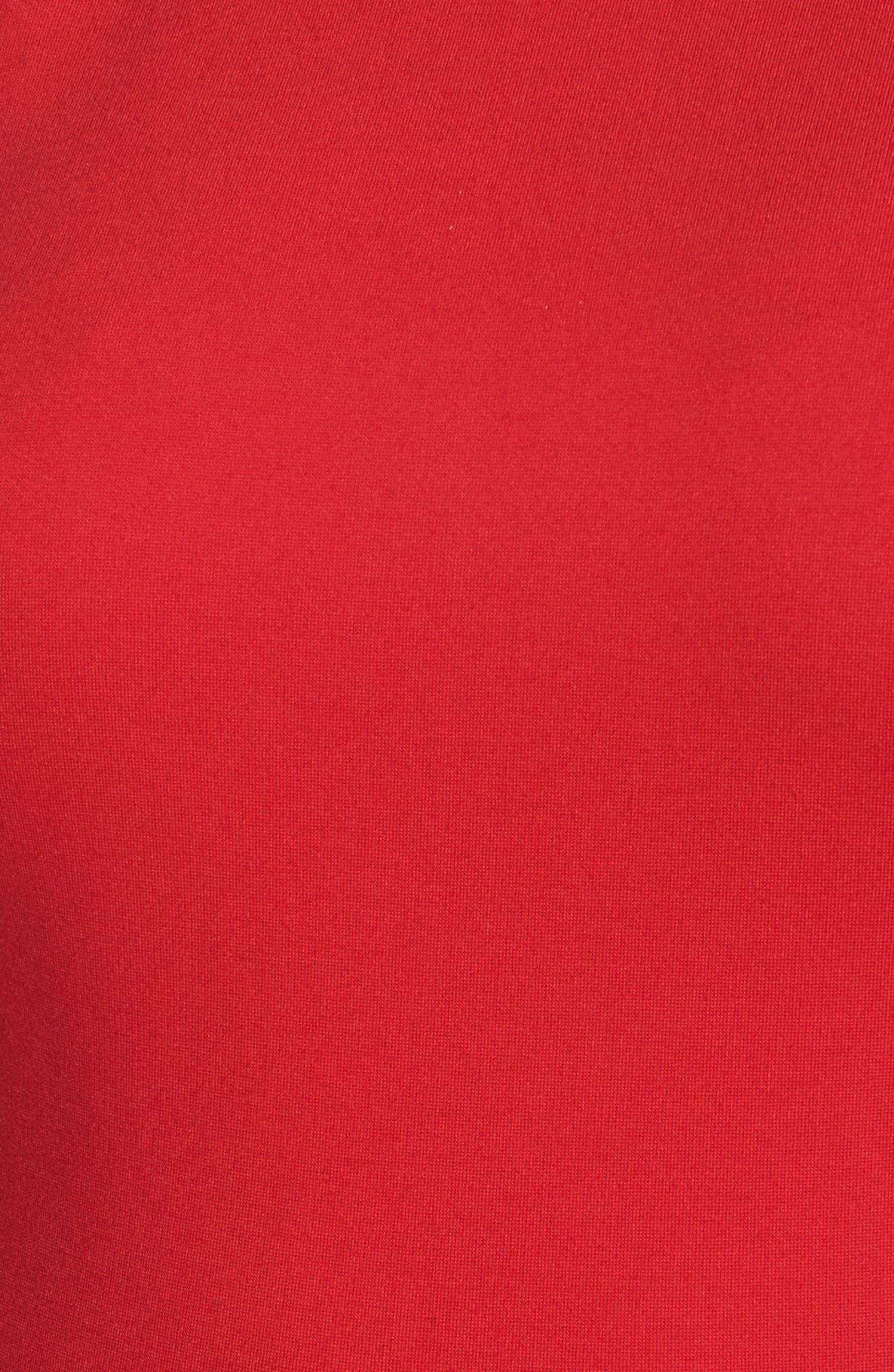 Rosa Fit & Flare Dress,                             Alternate thumbnail 5, color,