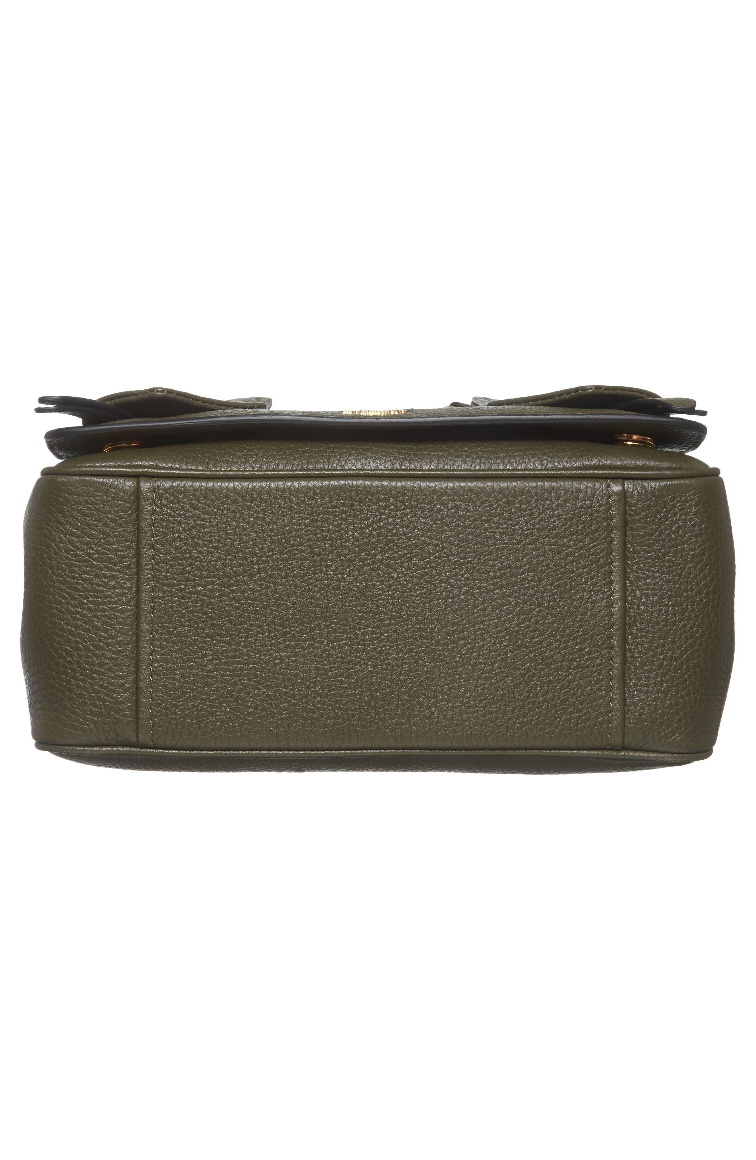 Grainy-B Leather Crossbody Bag,                             Alternate thumbnail 11, color,