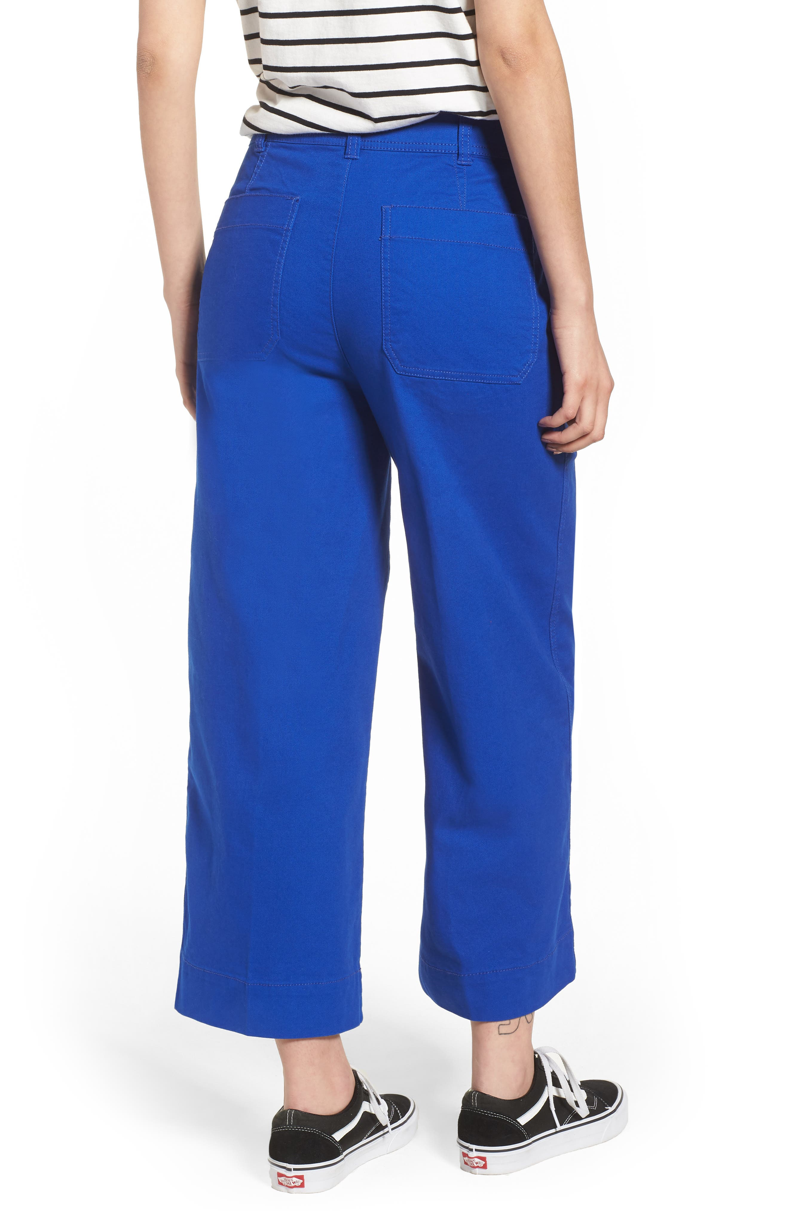 Emmett Crop Wide Leg Pants,                             Alternate thumbnail 8, color,