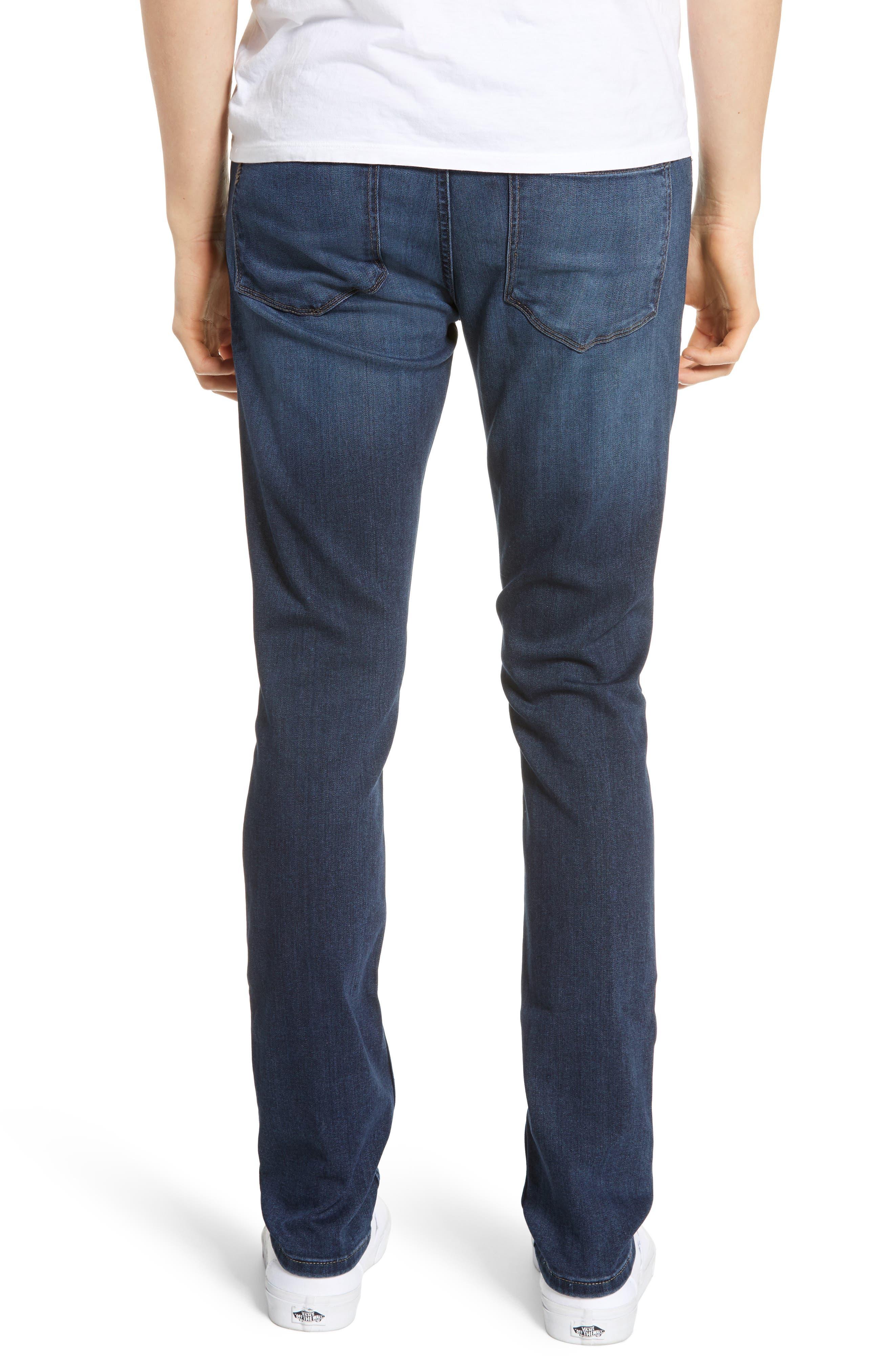 Transcend - Croft Skinny Fit Jeans,                             Alternate thumbnail 2, color,                             HUXLEY
